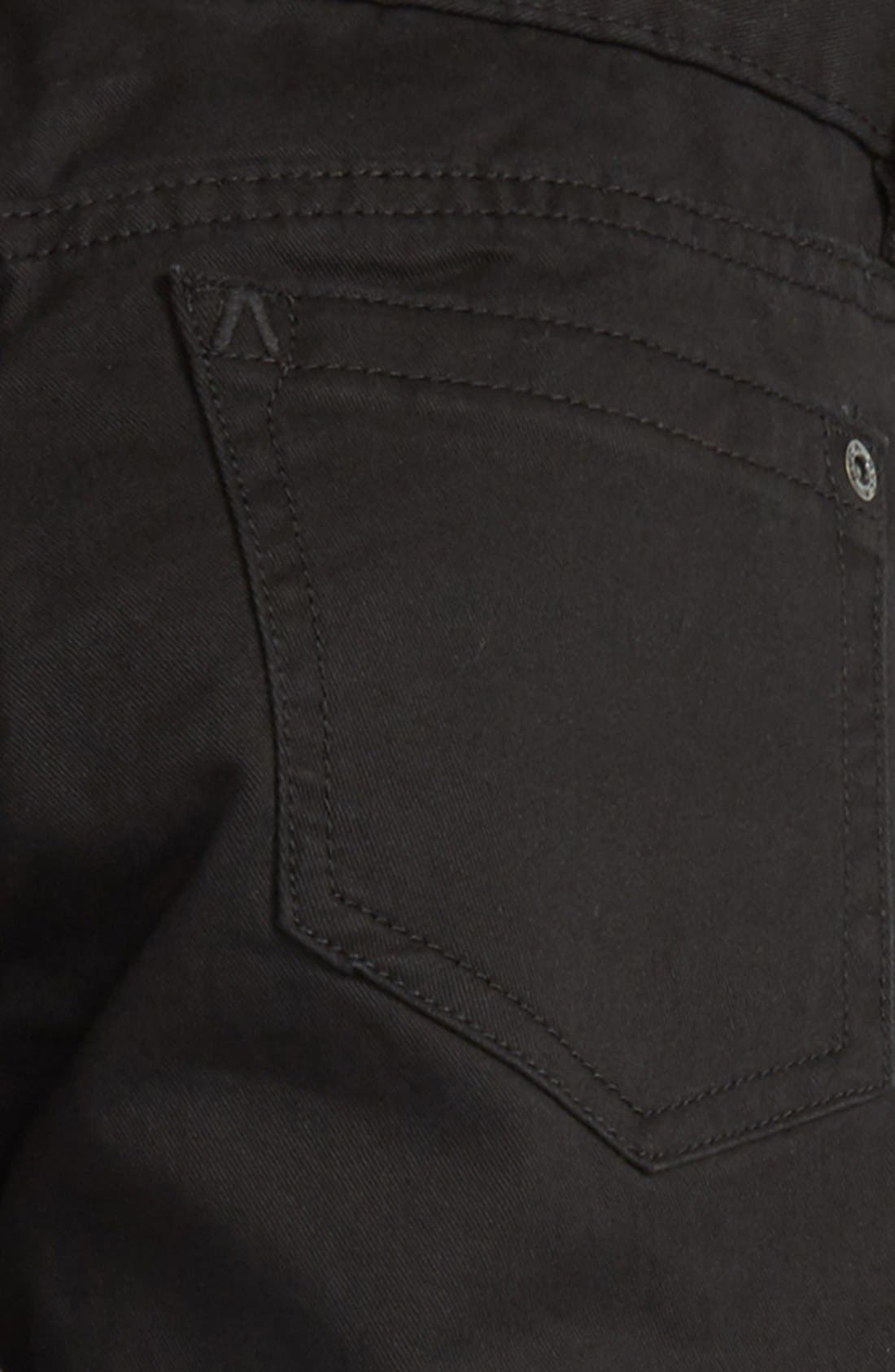 'Daggers' Slim Fit Twill Pants,                             Alternate thumbnail 7, color,