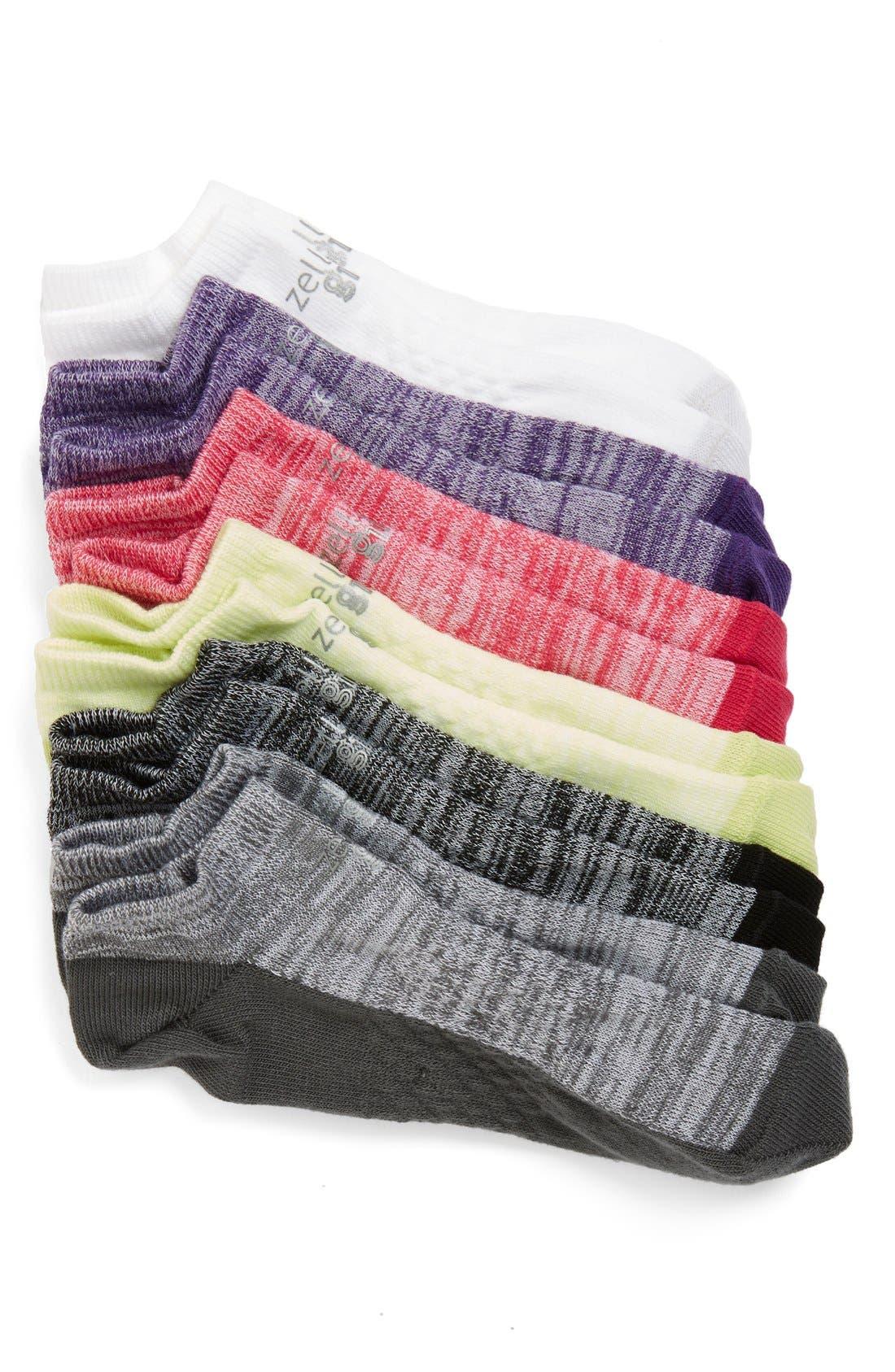 6-Pack Ankle Socks,                             Main thumbnail 7, color,
