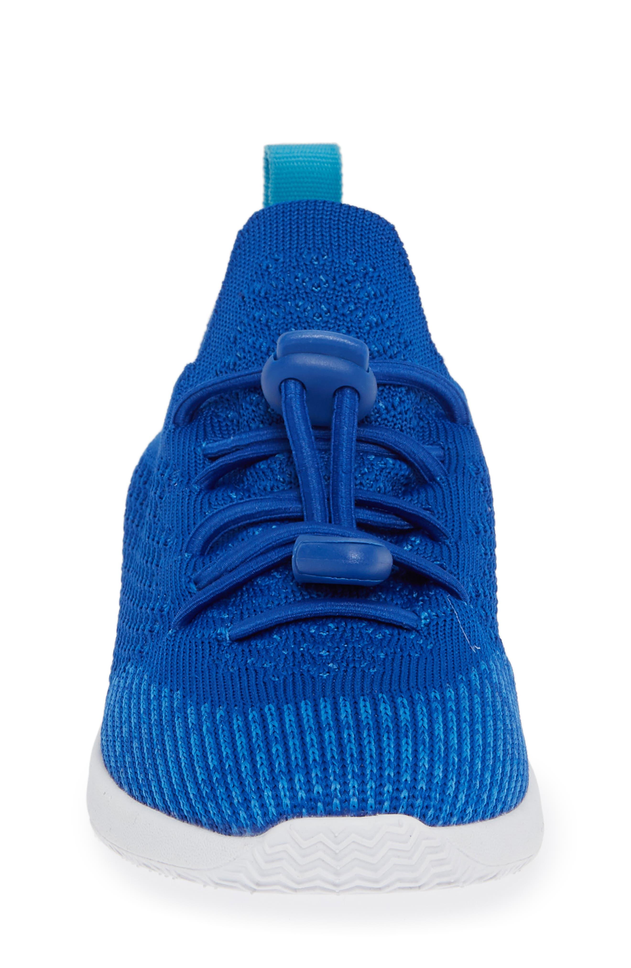 AP Mercury LiteKnit Sneaker,                             Alternate thumbnail 4, color,                             VICTORIA BLUE/ SHELL WHITE
