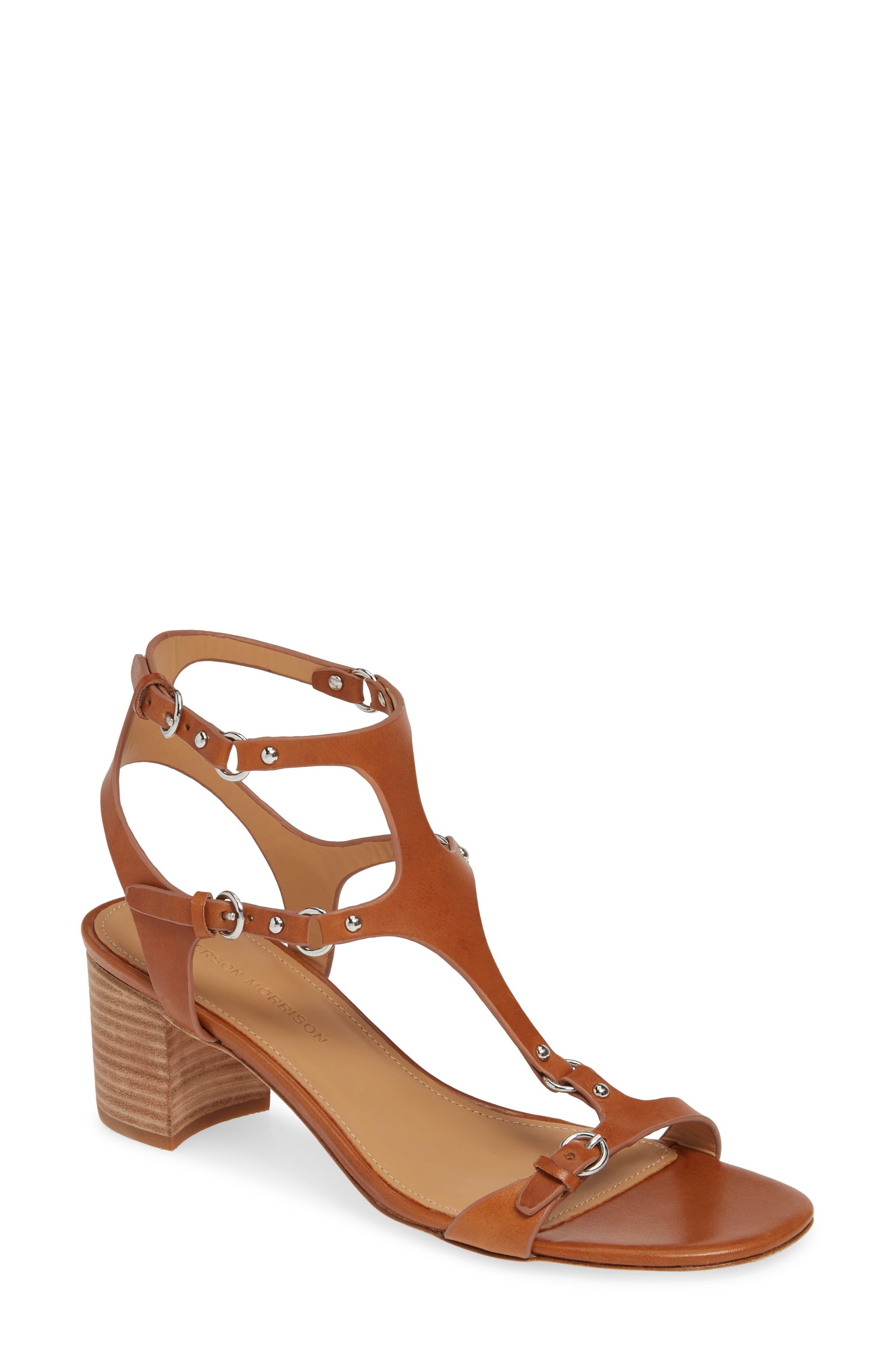 Sigerson Morrison Haven T-Strap Sandal EU - Brown