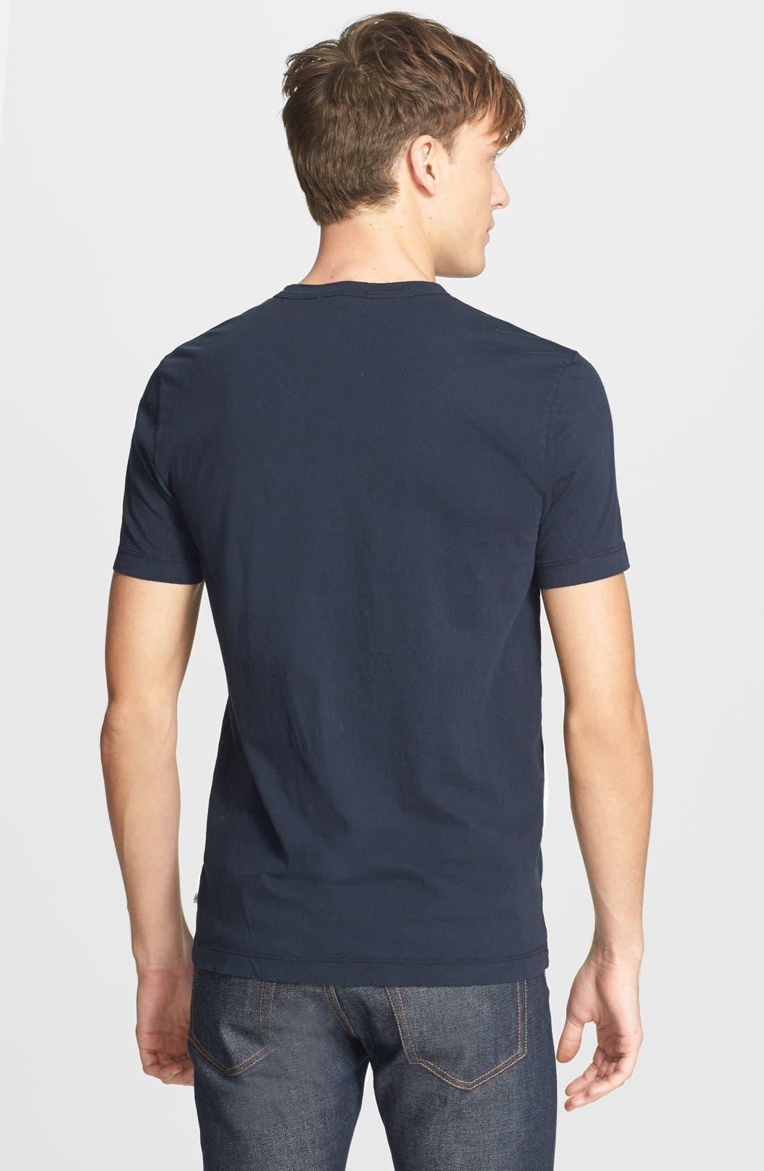 Crewneck Jersey T-Shirt,                             Alternate thumbnail 242, color,
