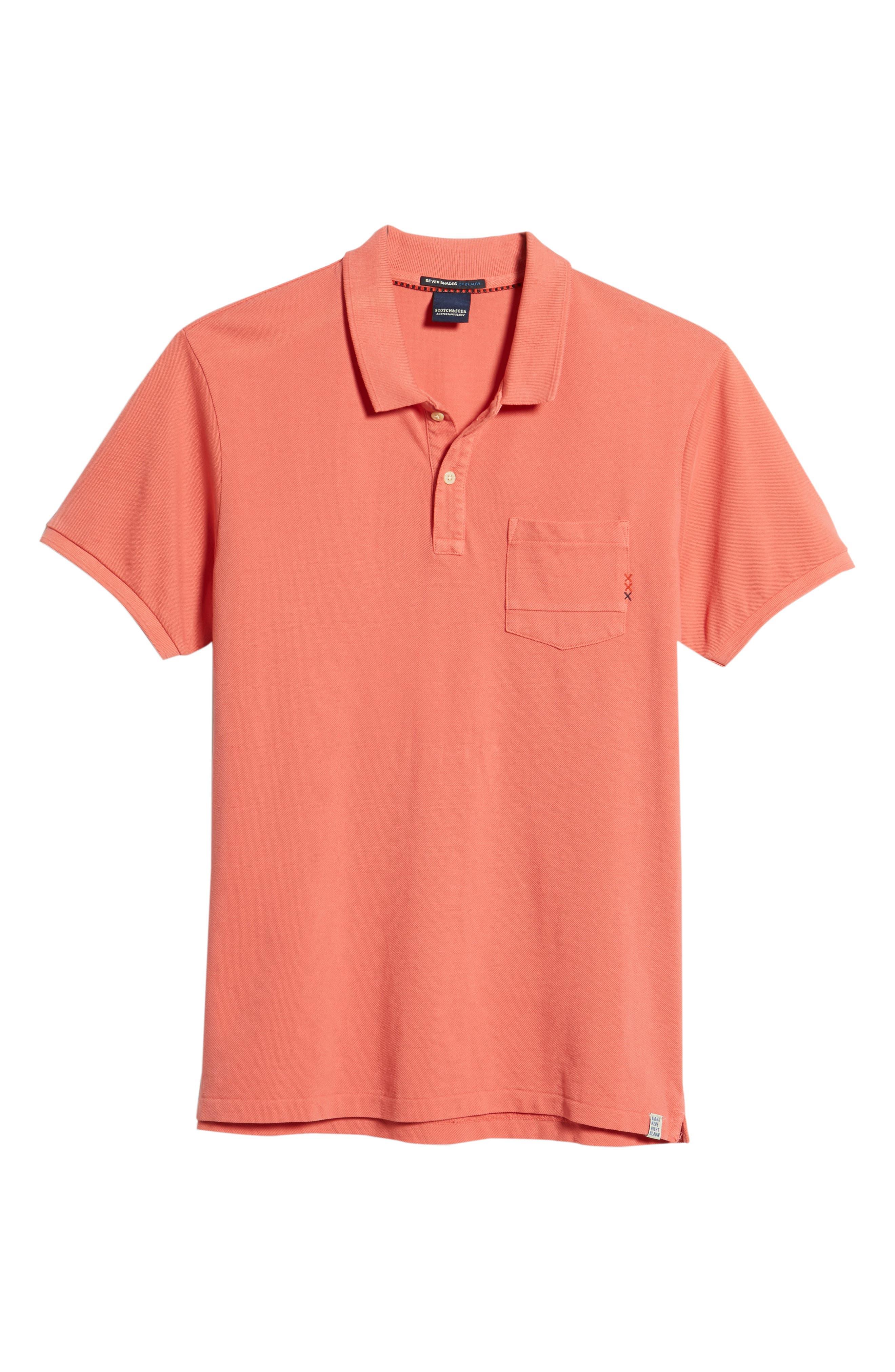 Garment Dyed Polo,                             Alternate thumbnail 6, color,                             600