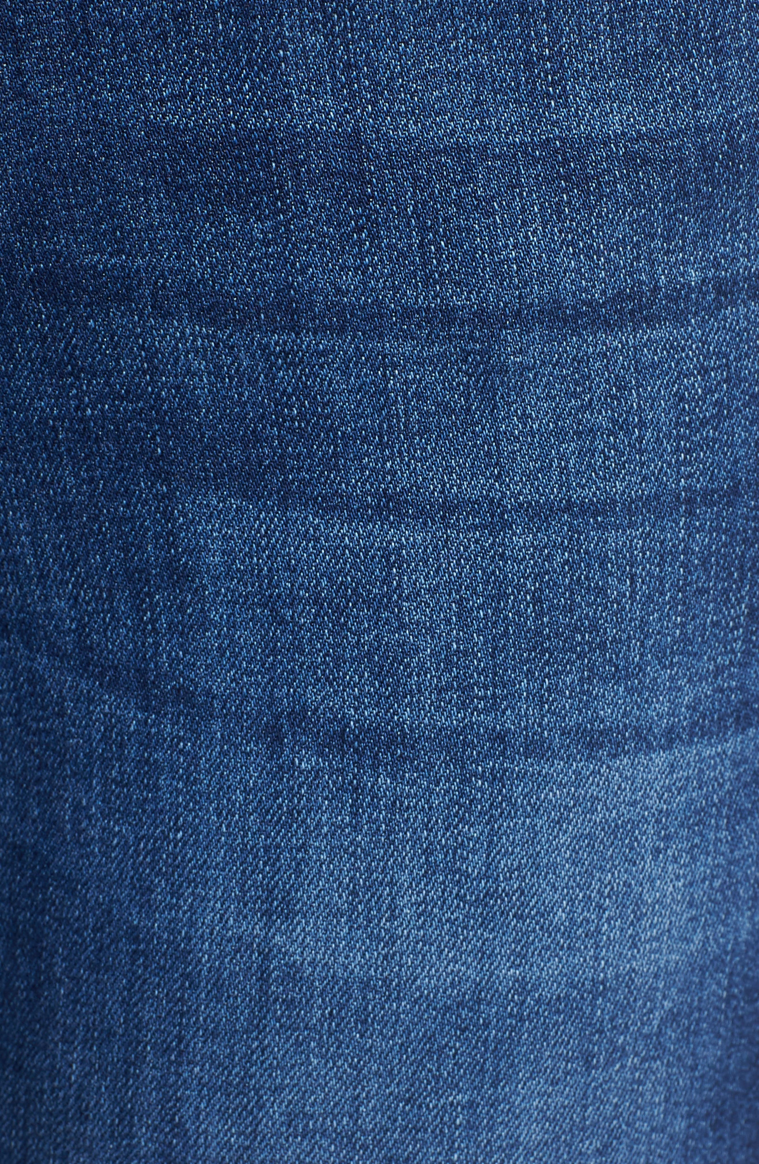 Emma High Waist Ankle Skinny Jeans,                             Alternate thumbnail 6, color,                             MERRYL