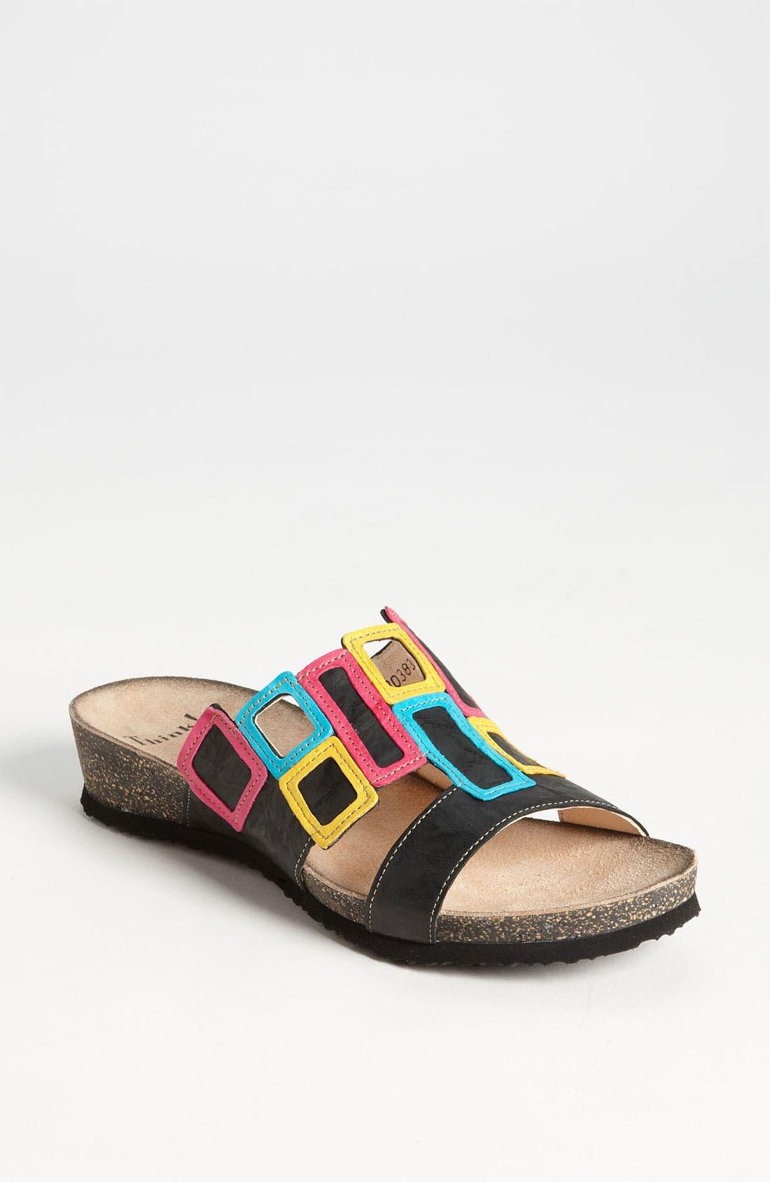 'Dumia' Sandal,                         Main,                         color, 001