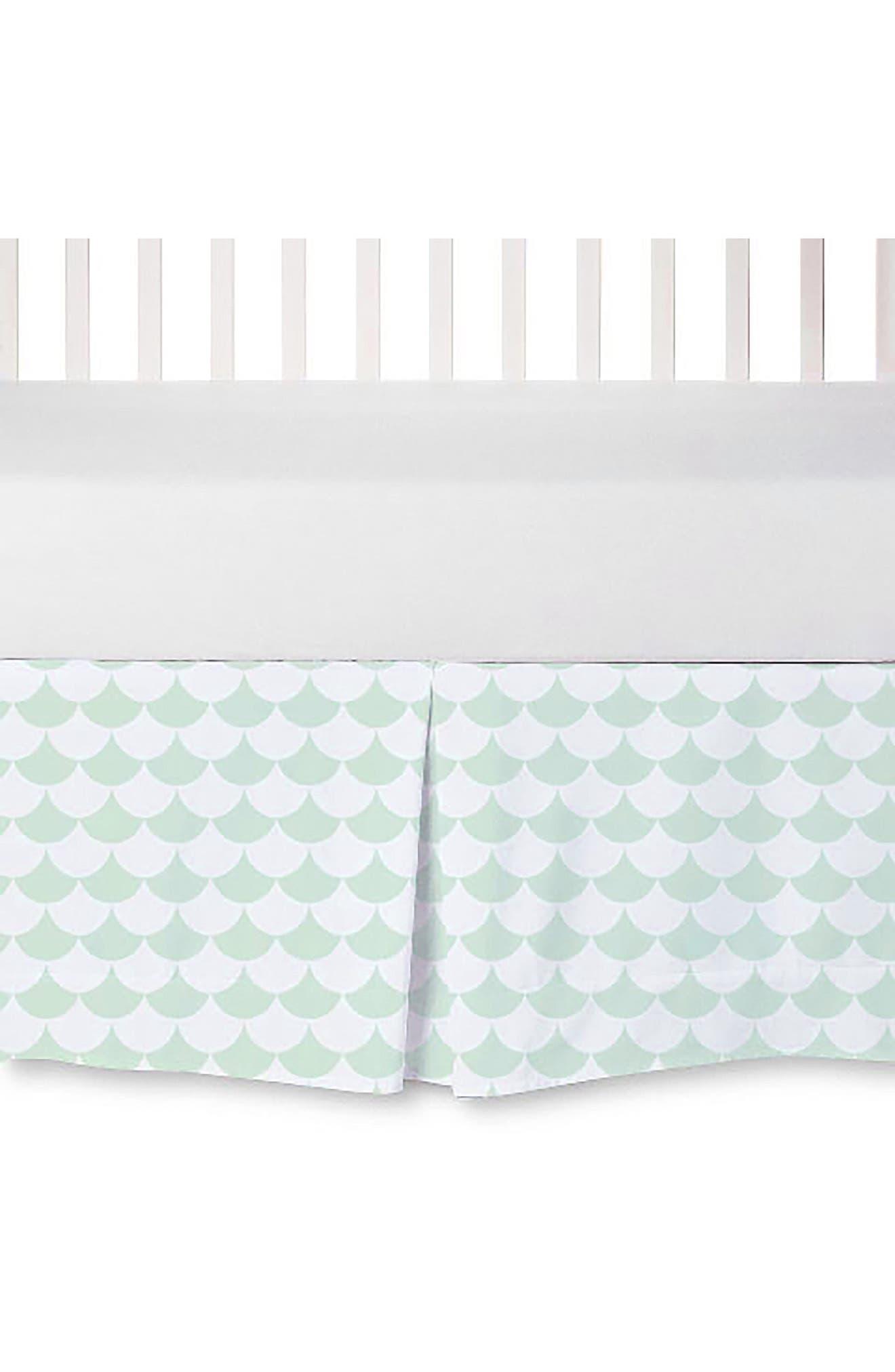 Crib Bed Skirt,                             Main thumbnail 2, color,