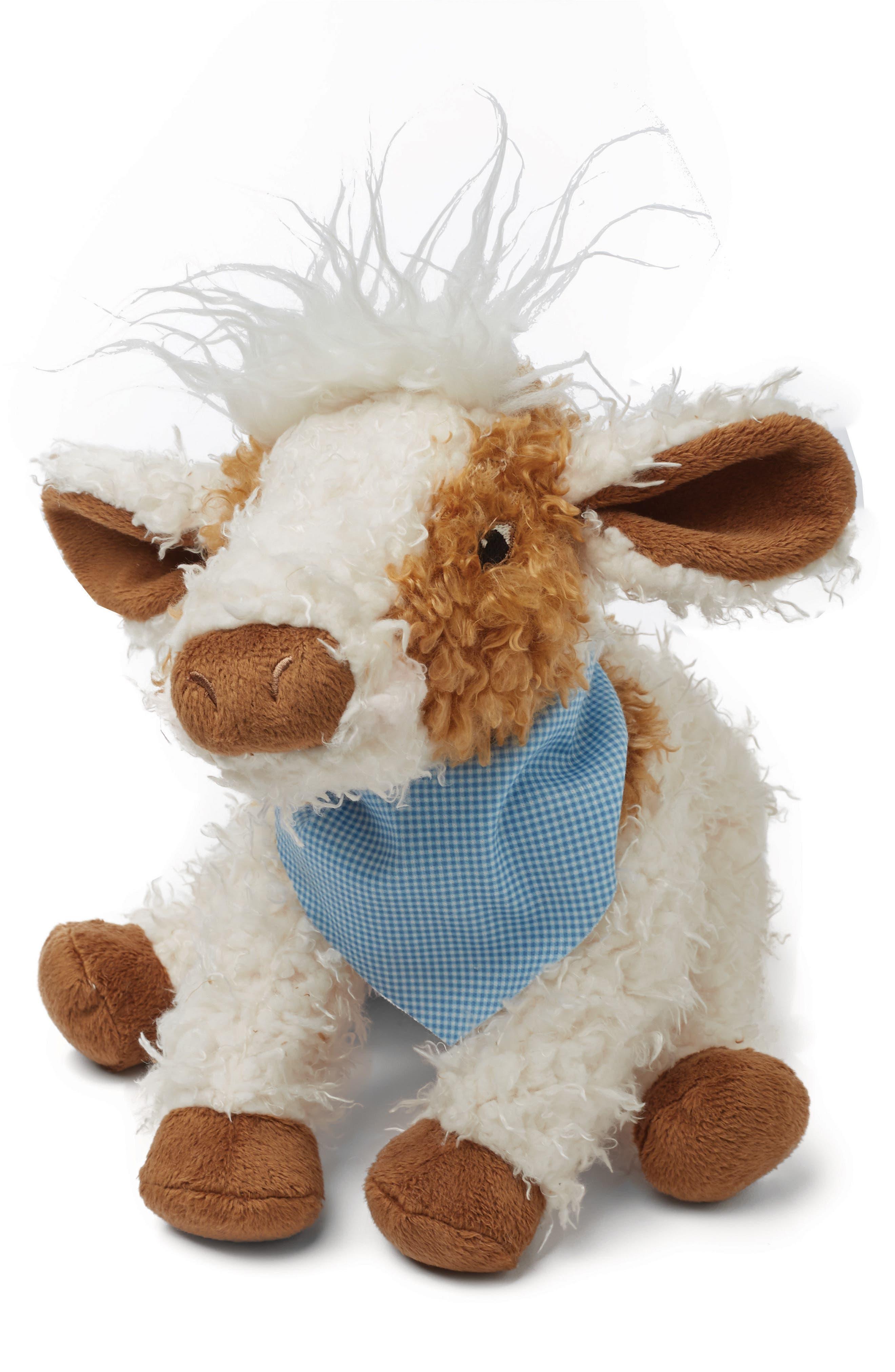 Moo Moo Cow Stuffed Animal,                             Main thumbnail 1, color,                             110