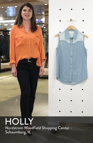 Chambray Western Shirt, sales video thumbnail