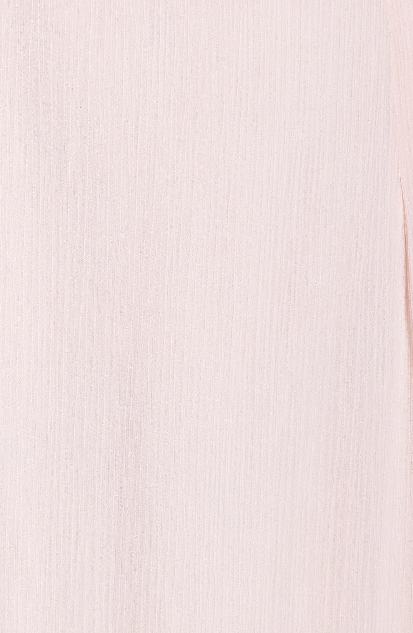 Lauren Cold Shoulder Tiered Gown,                             Alternate thumbnail 14, color,