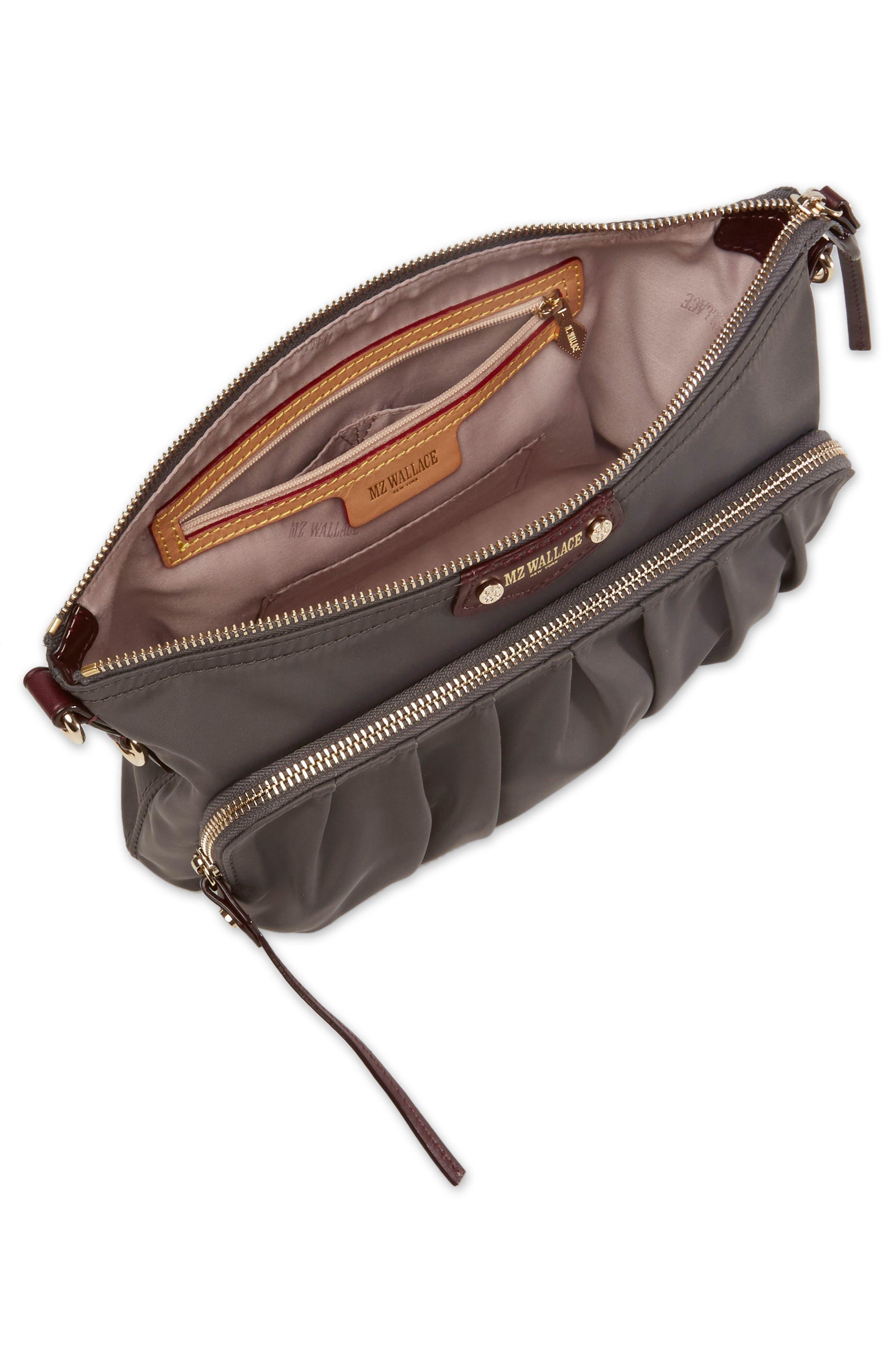 Toni Bedford Nylon Crossbody Bag,                             Alternate thumbnail 4, color,                             023