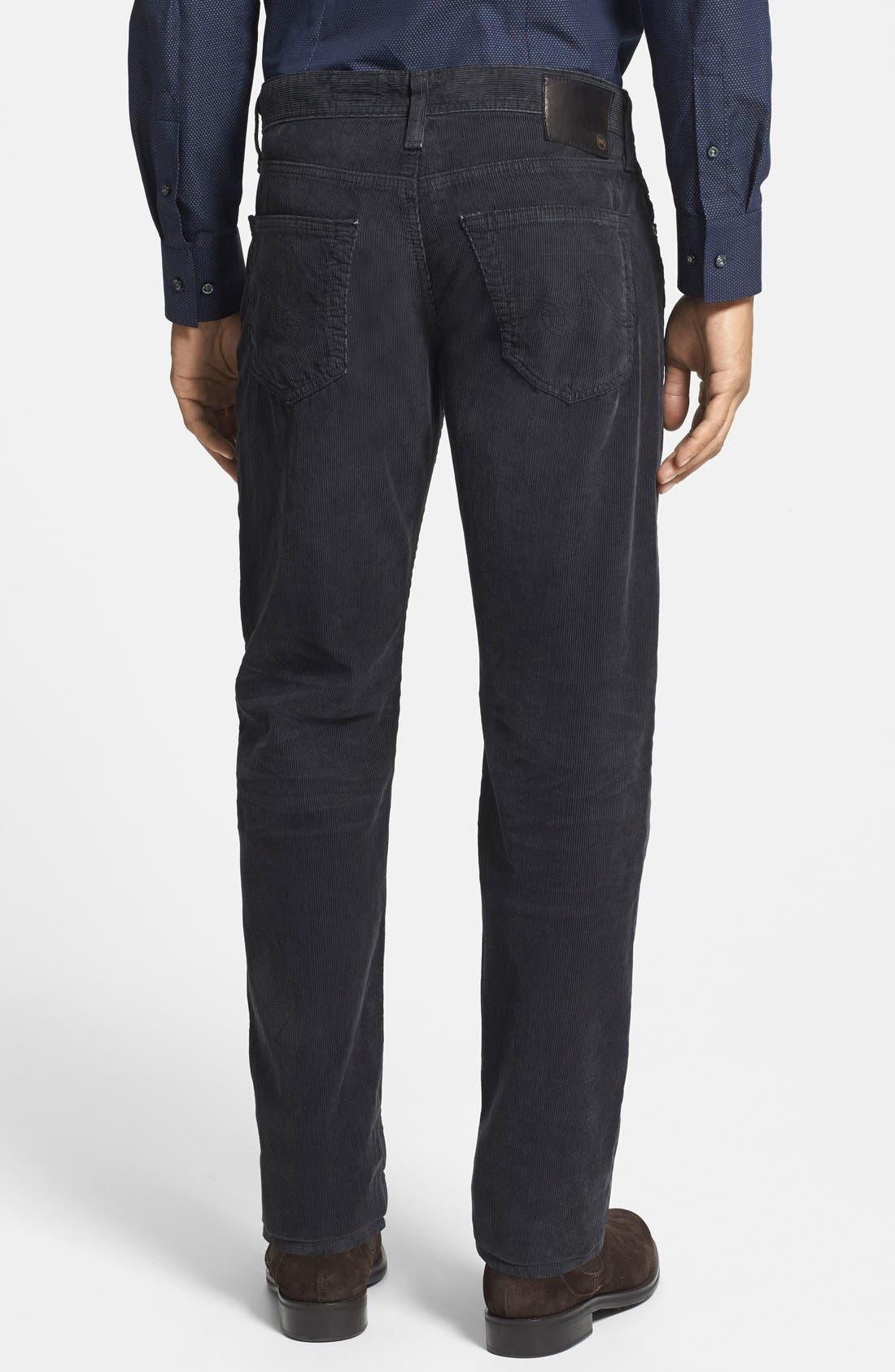 'Graduate' Tailored Straight Leg Corduroy Pants,                             Alternate thumbnail 73, color,