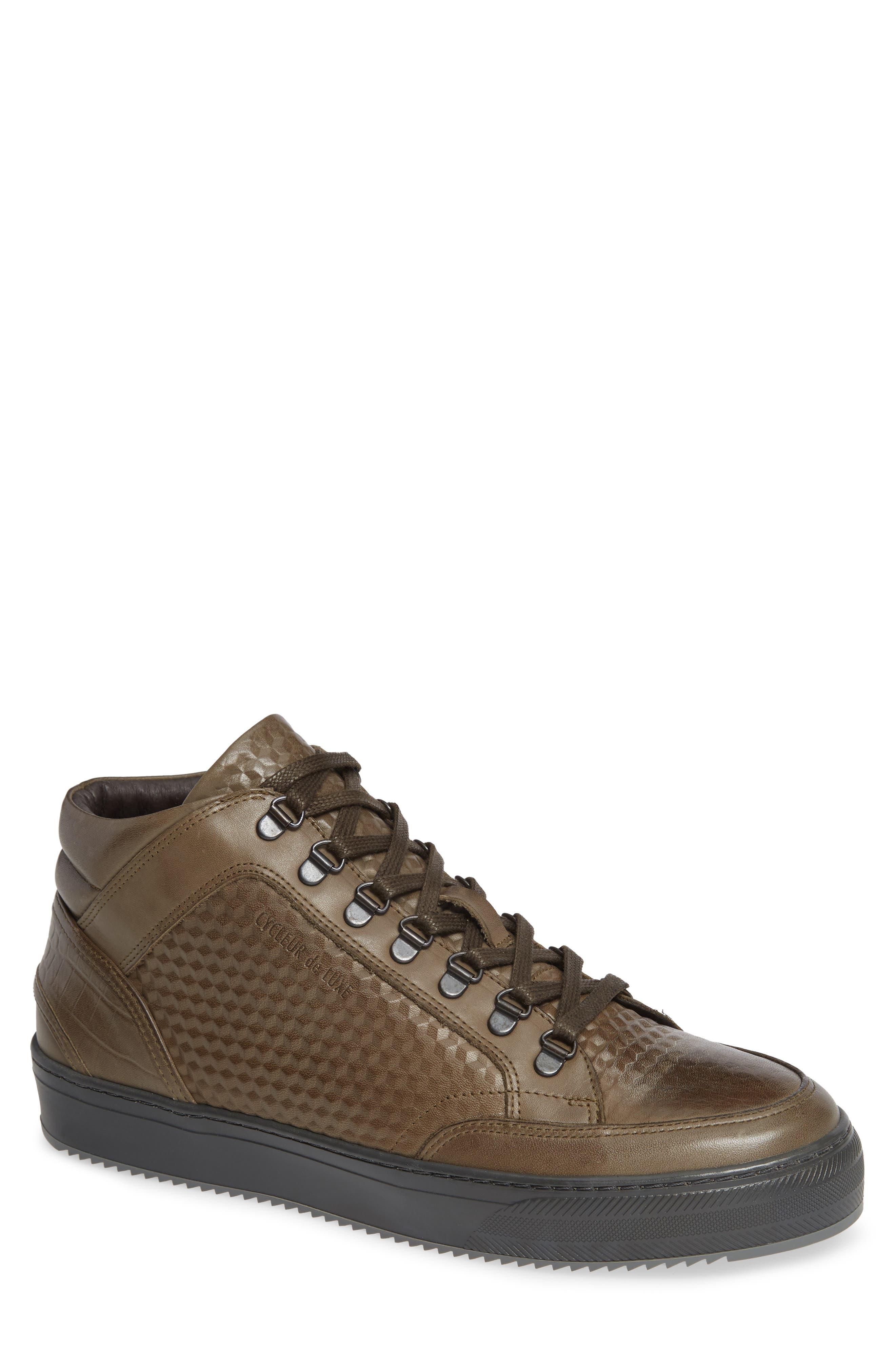 Houma Hooks Sneaker,                         Main,                         color, MILITARY GREEN