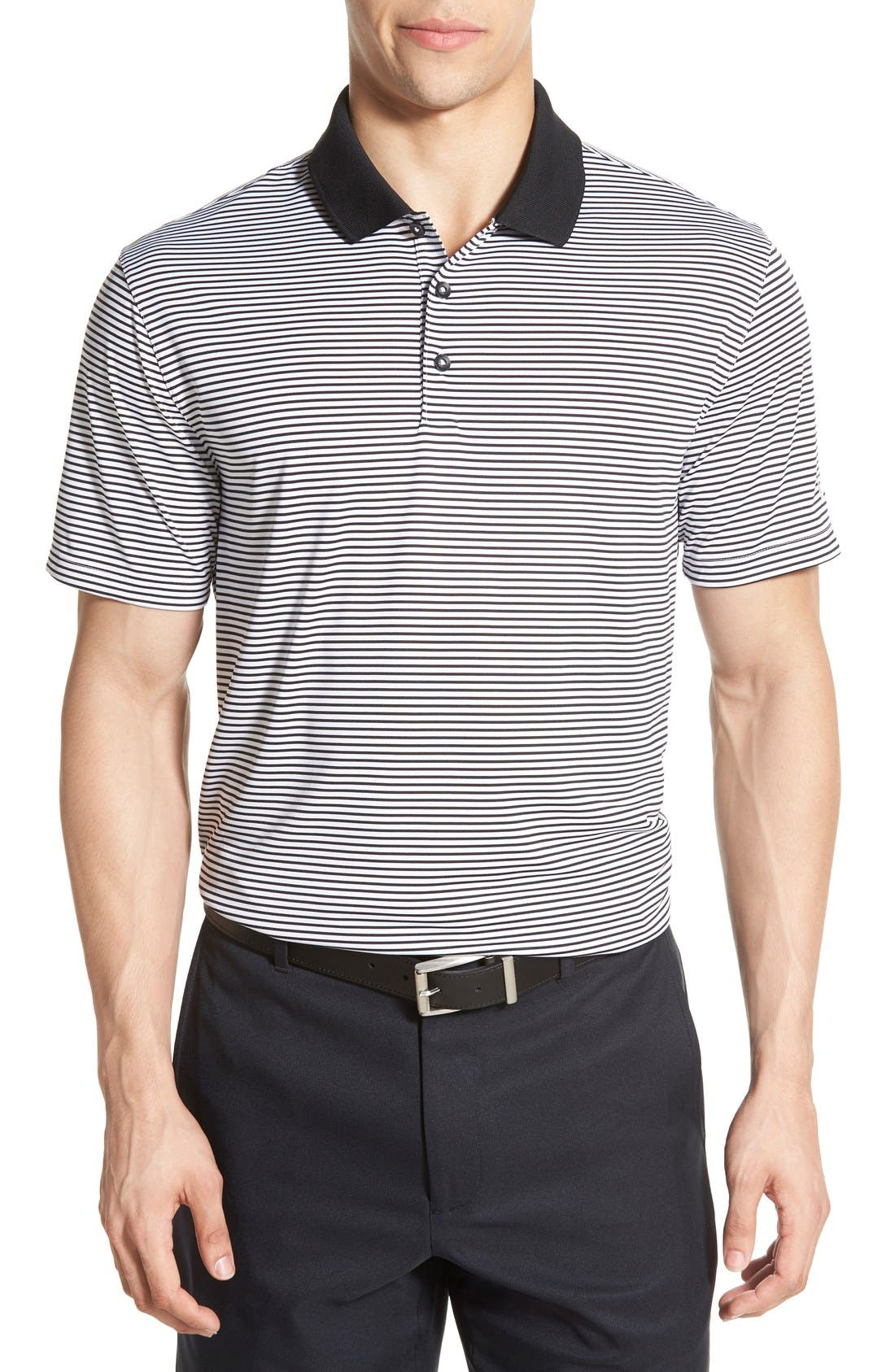 'Victory Stripe' Dri-FIT Golf Polo,                             Main thumbnail 1, color,