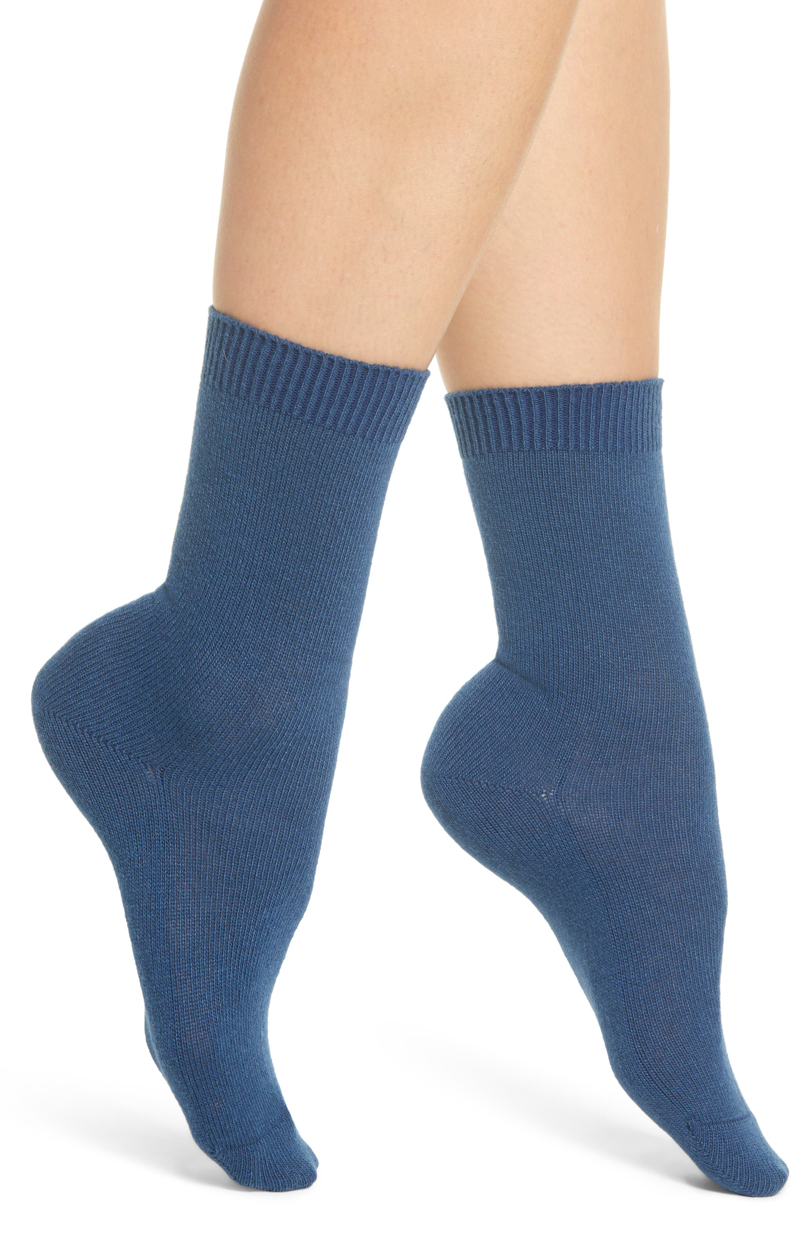 Cosy Crew Socks,                         Main,                         color, NIGHT SKY