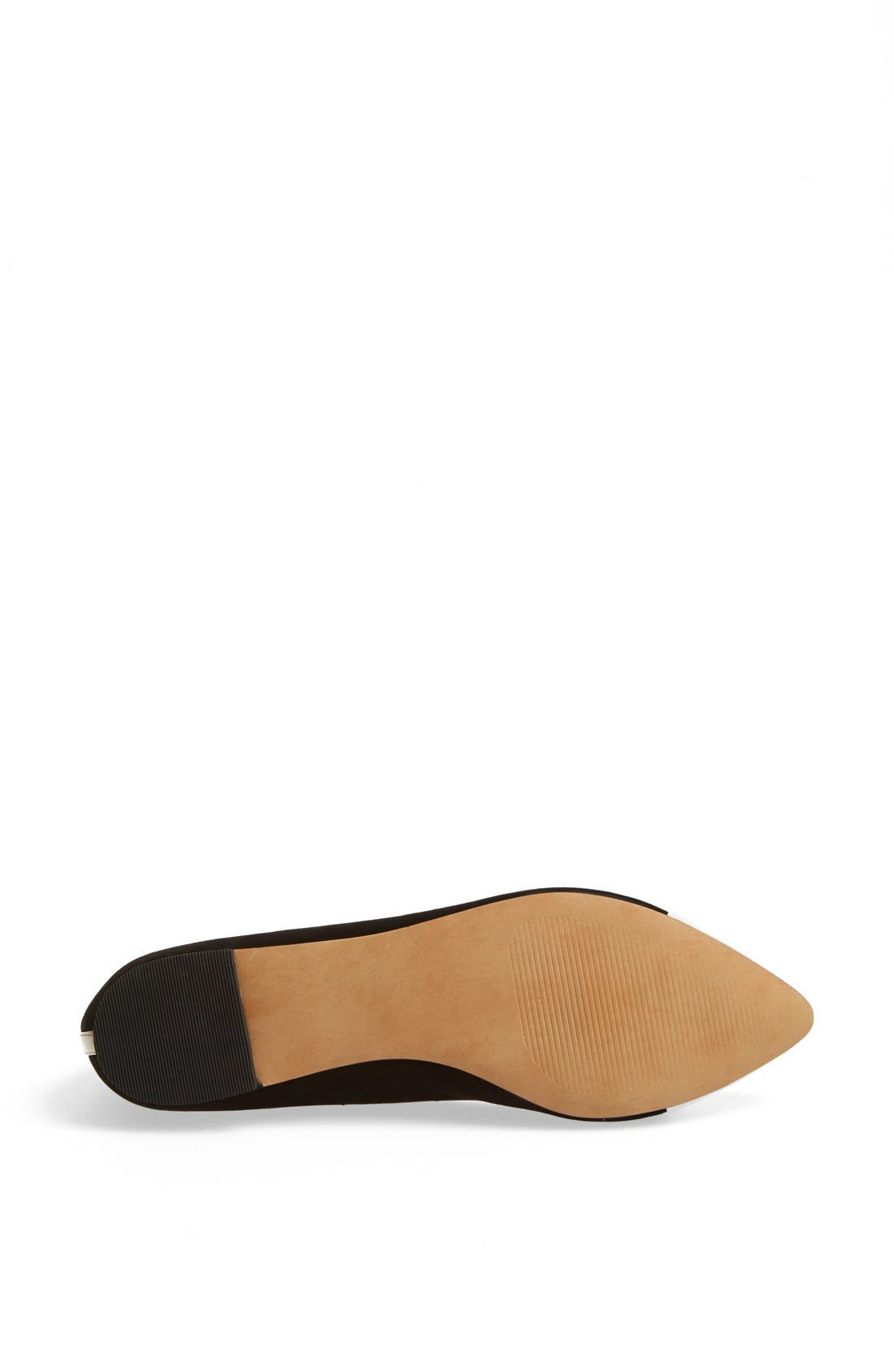Julianne Hough for Sole Society 'Addy' Flat,                             Alternate thumbnail 5, color,                             001