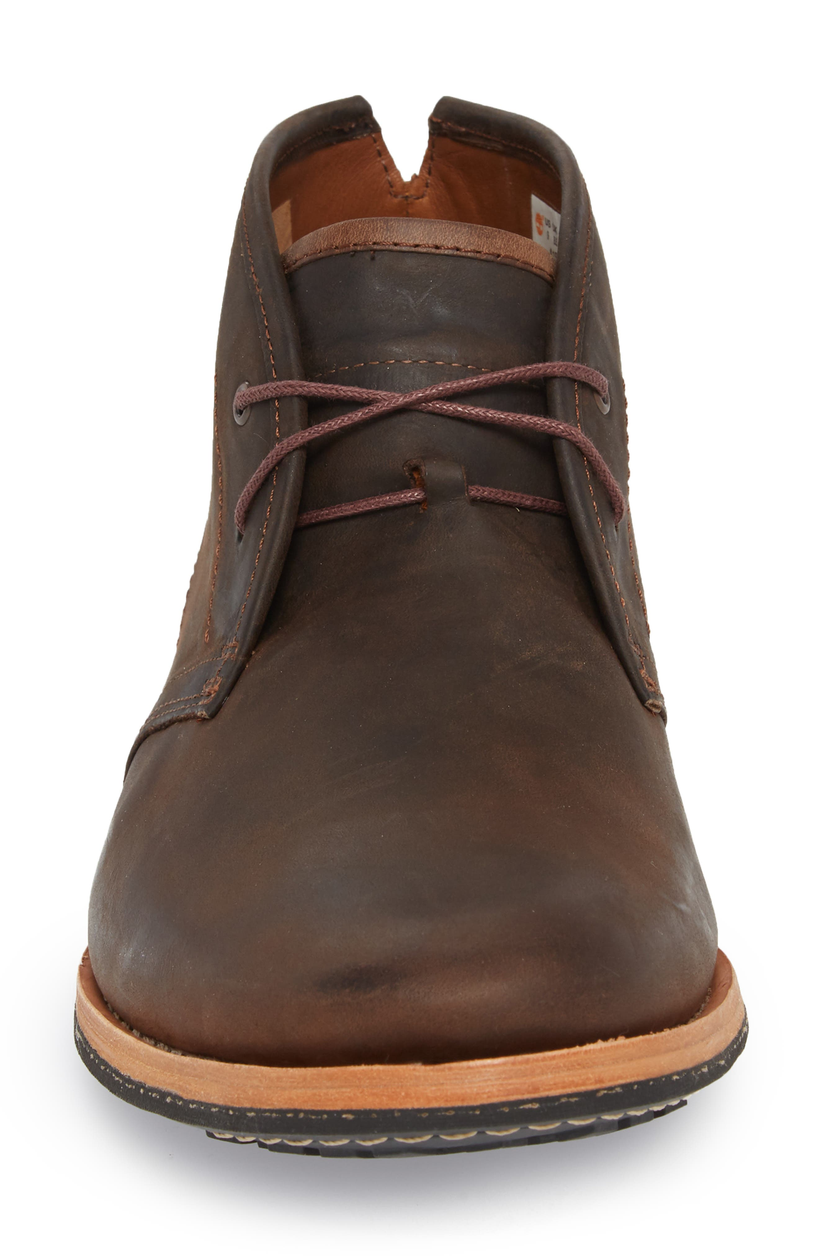 Wodehouse Lost History Chukka Boot,                             Alternate thumbnail 4, color,                             BROWN LEATHER