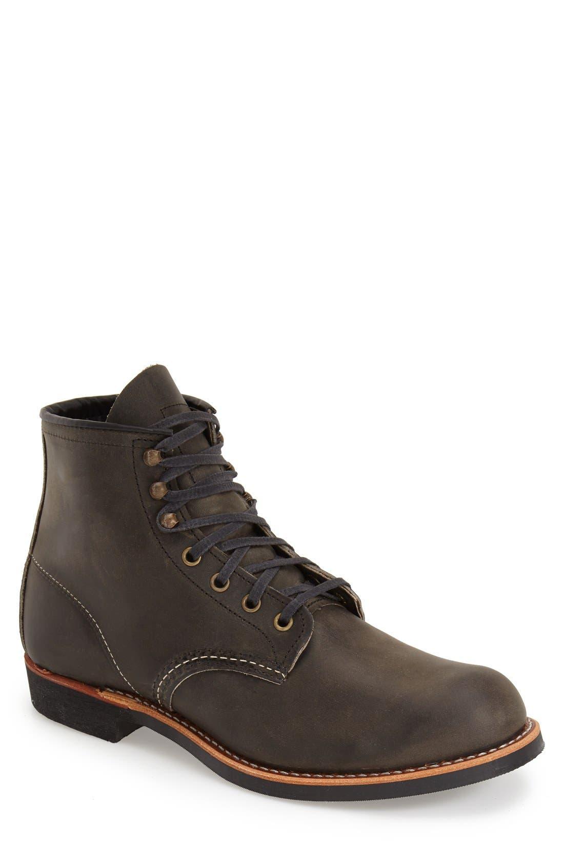 Blacksmith Boot,                             Main thumbnail 1, color,                             CHARCOAL LEATHER