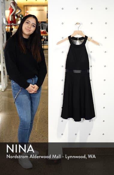 Love, Nicki Lew Halter Neck Skater Dress, sales video thumbnail