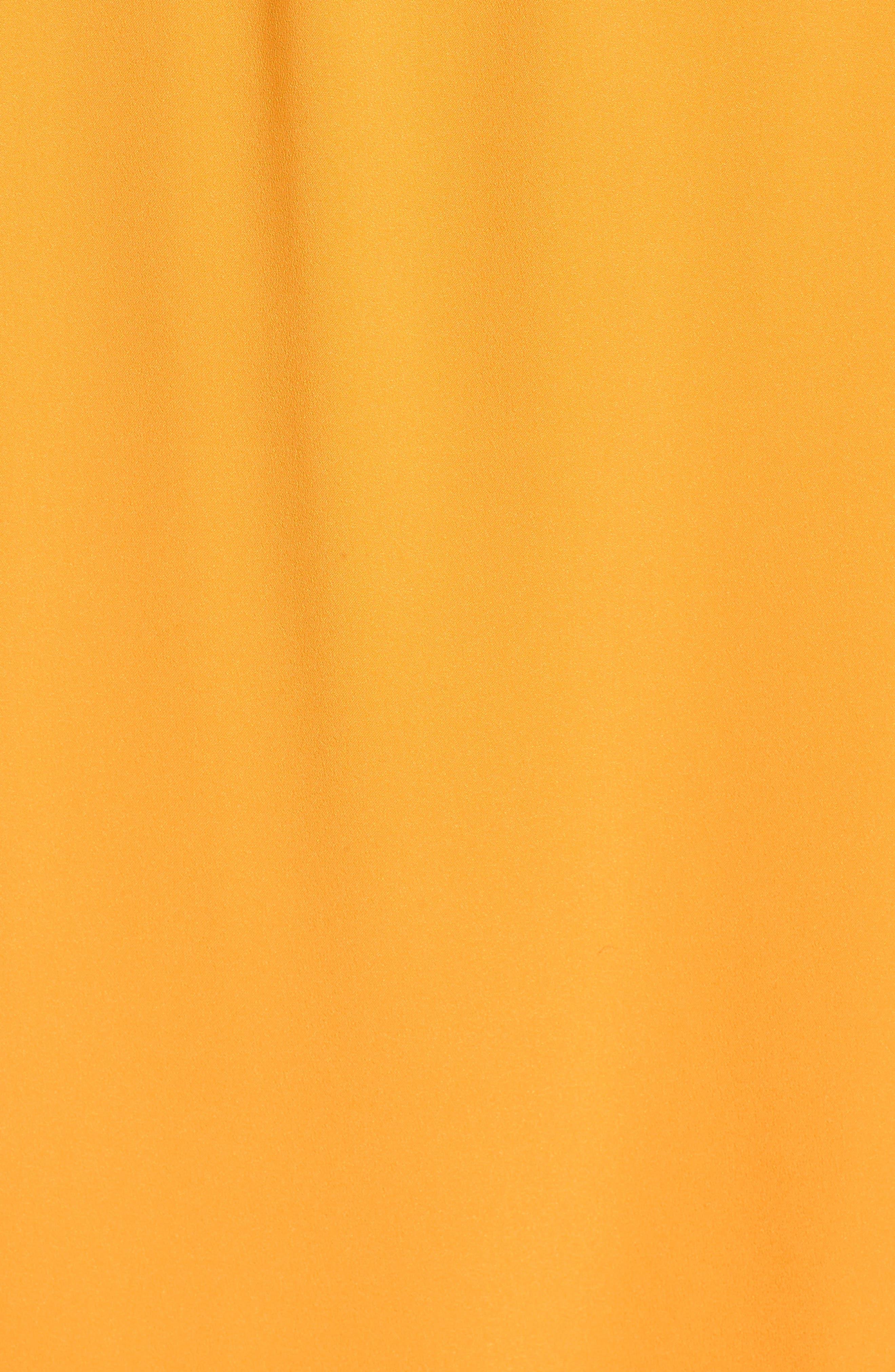 Off the Shoulder Crepe Dress,                             Alternate thumbnail 27, color,