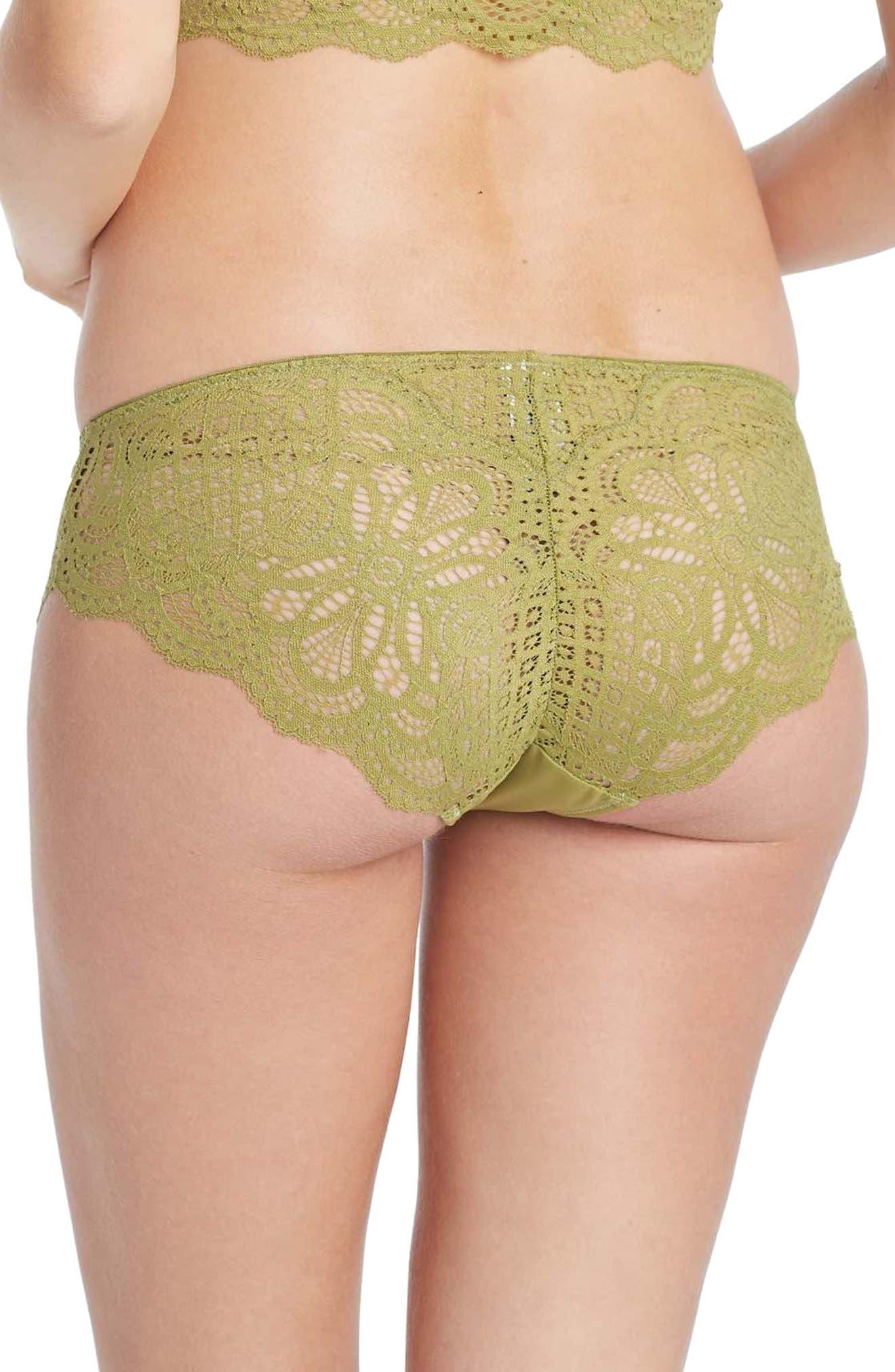 You! Lingerie Olivea Maternity Panties,                             Alternate thumbnail 2, color,                             OLIVE GREEN