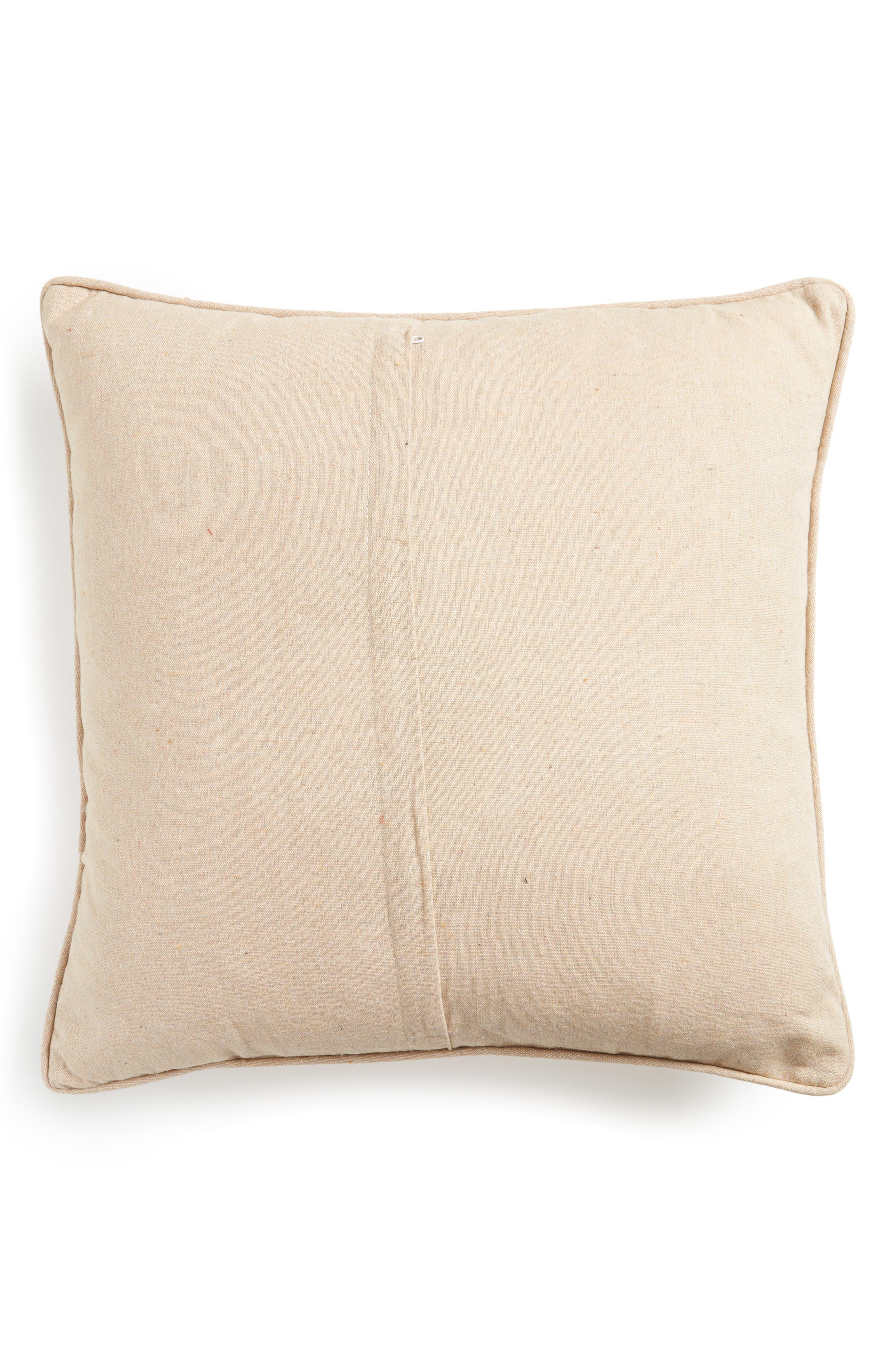 Plaid Merry Kissmoose Accent Pillow,                             Alternate thumbnail 2, color,                             900