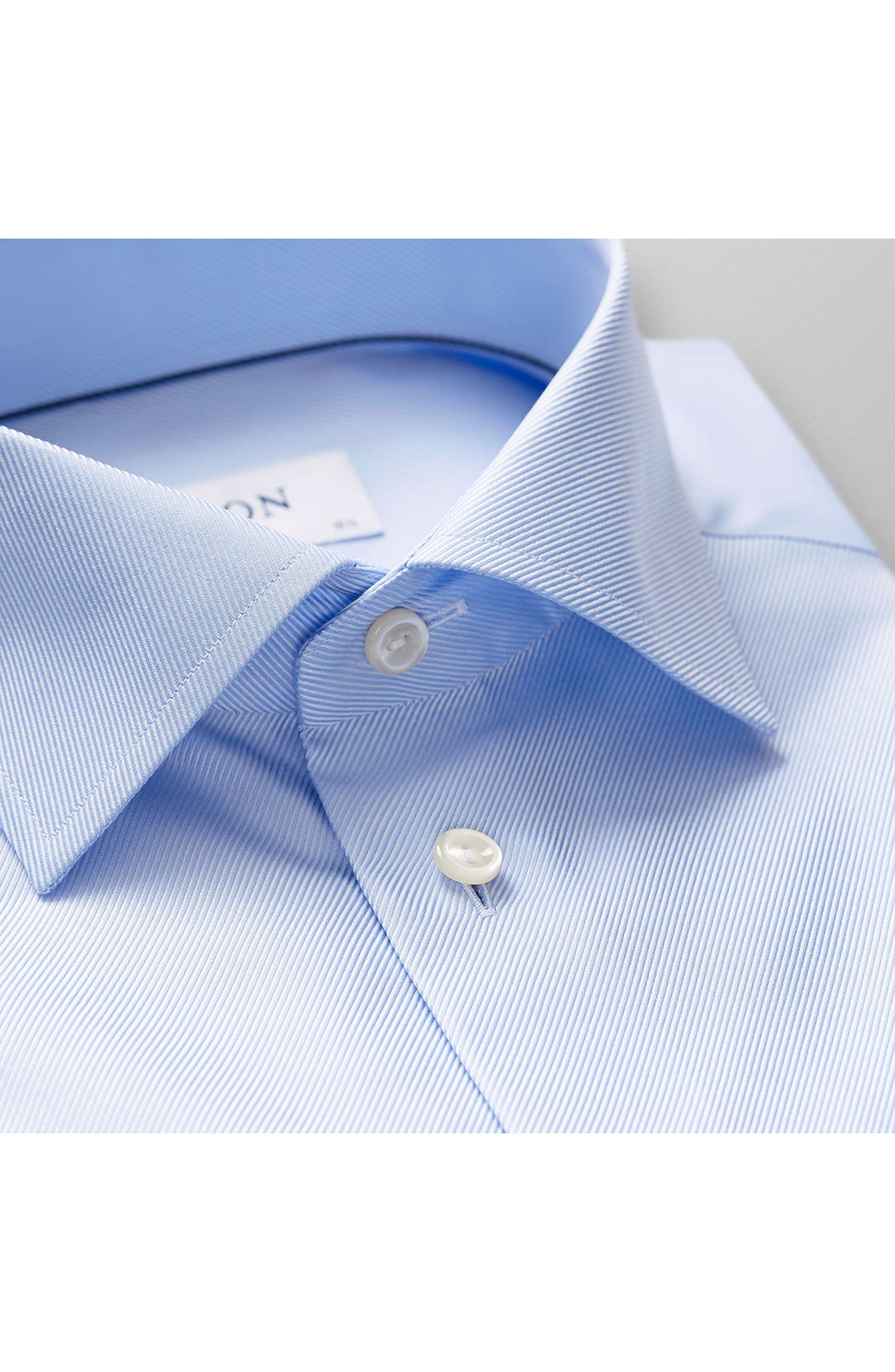 Slim Fit Non-Iron Dress Shirt,                         Main,                         color, LIGHT BLUE
