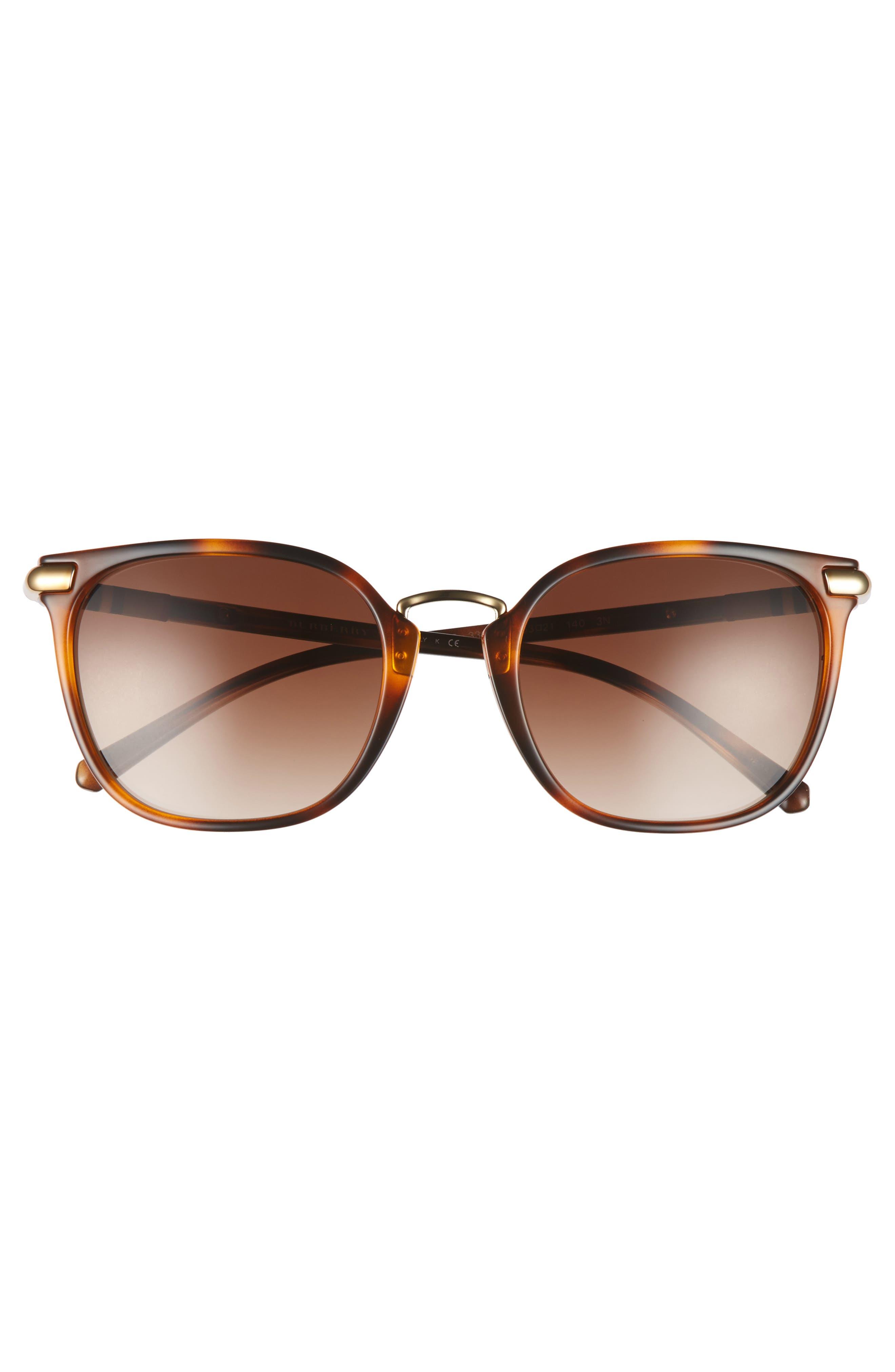 53mm Gradient Square Sunglasses,                             Alternate thumbnail 11, color,