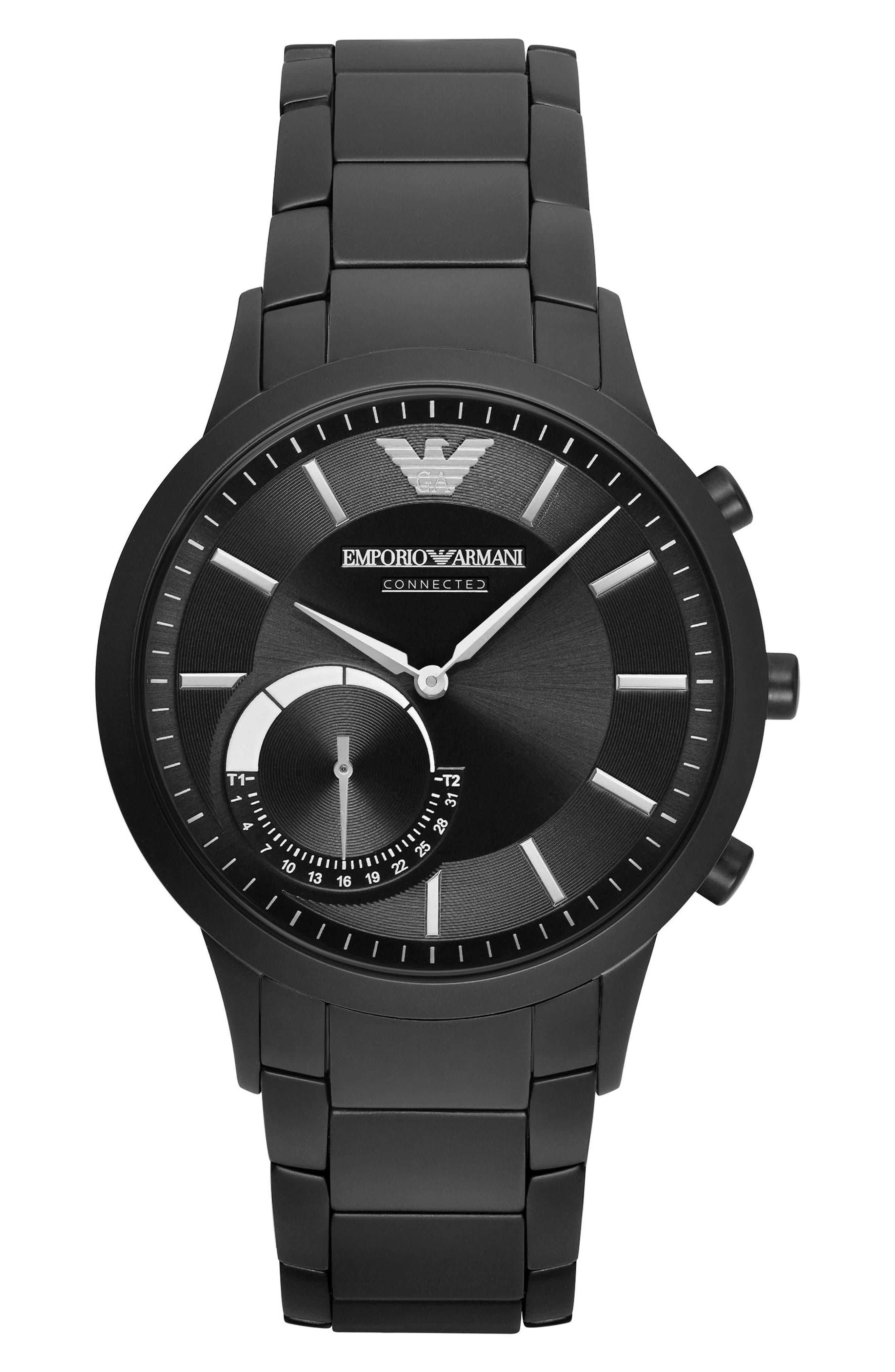 Bracelet Hybrid Smart Watch, 43mm,                         Main,                         color, 001