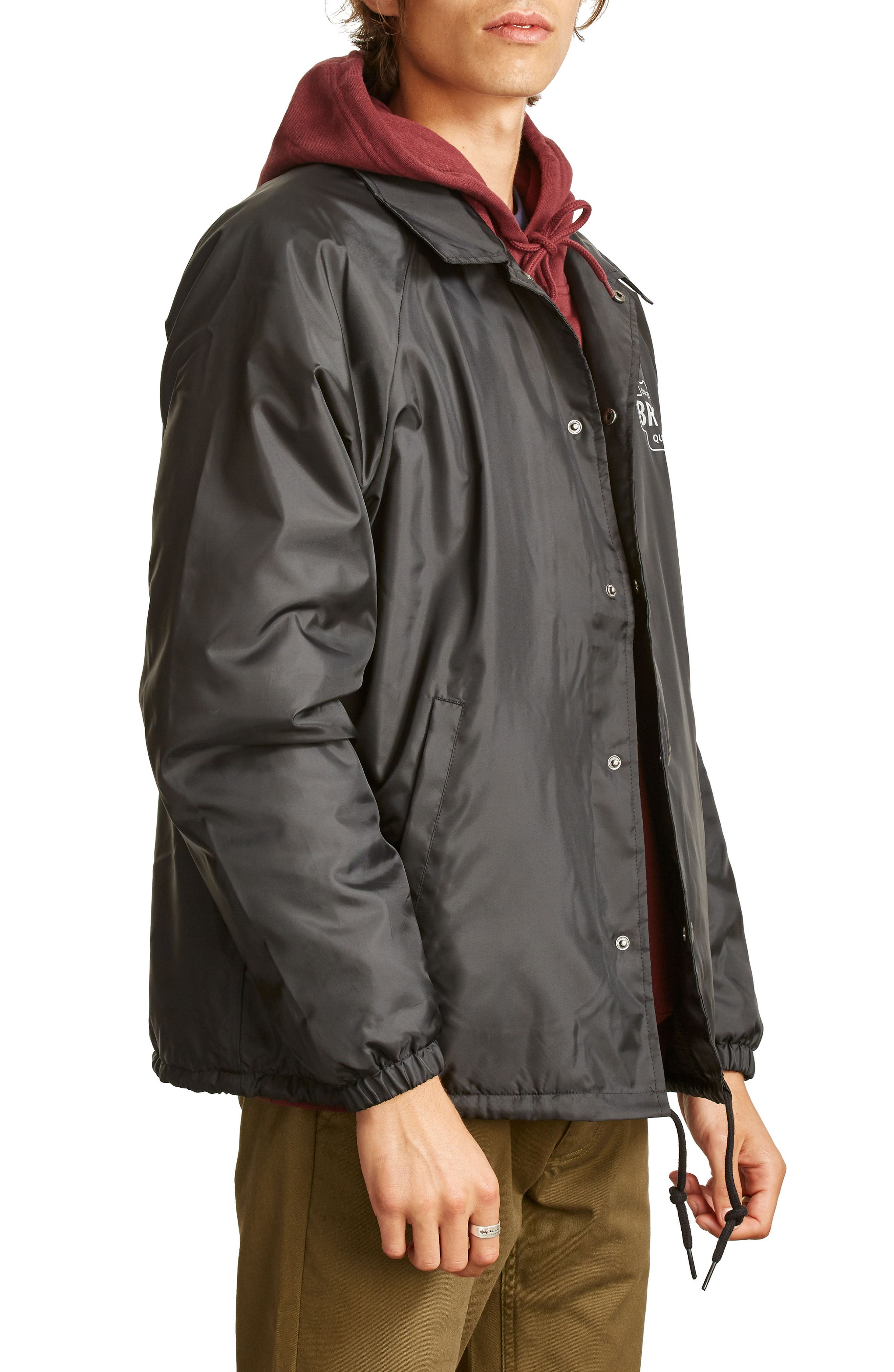 Garth Water Resistant Coach's Jacket,                             Alternate thumbnail 3, color,                             005