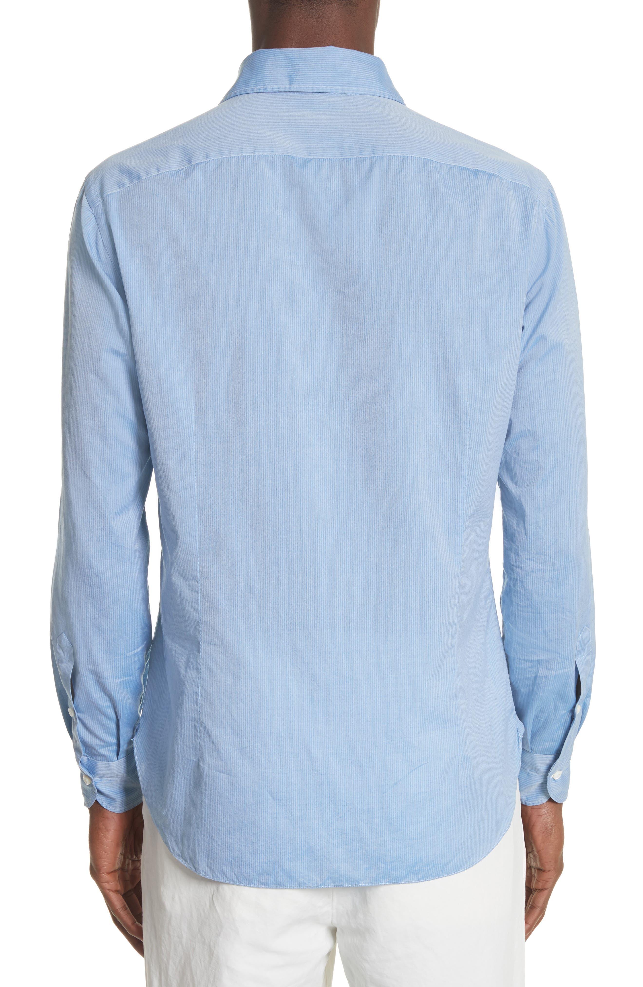 Napoli JB Washed Stripe Sport Shirt,                             Alternate thumbnail 2, color,                             400