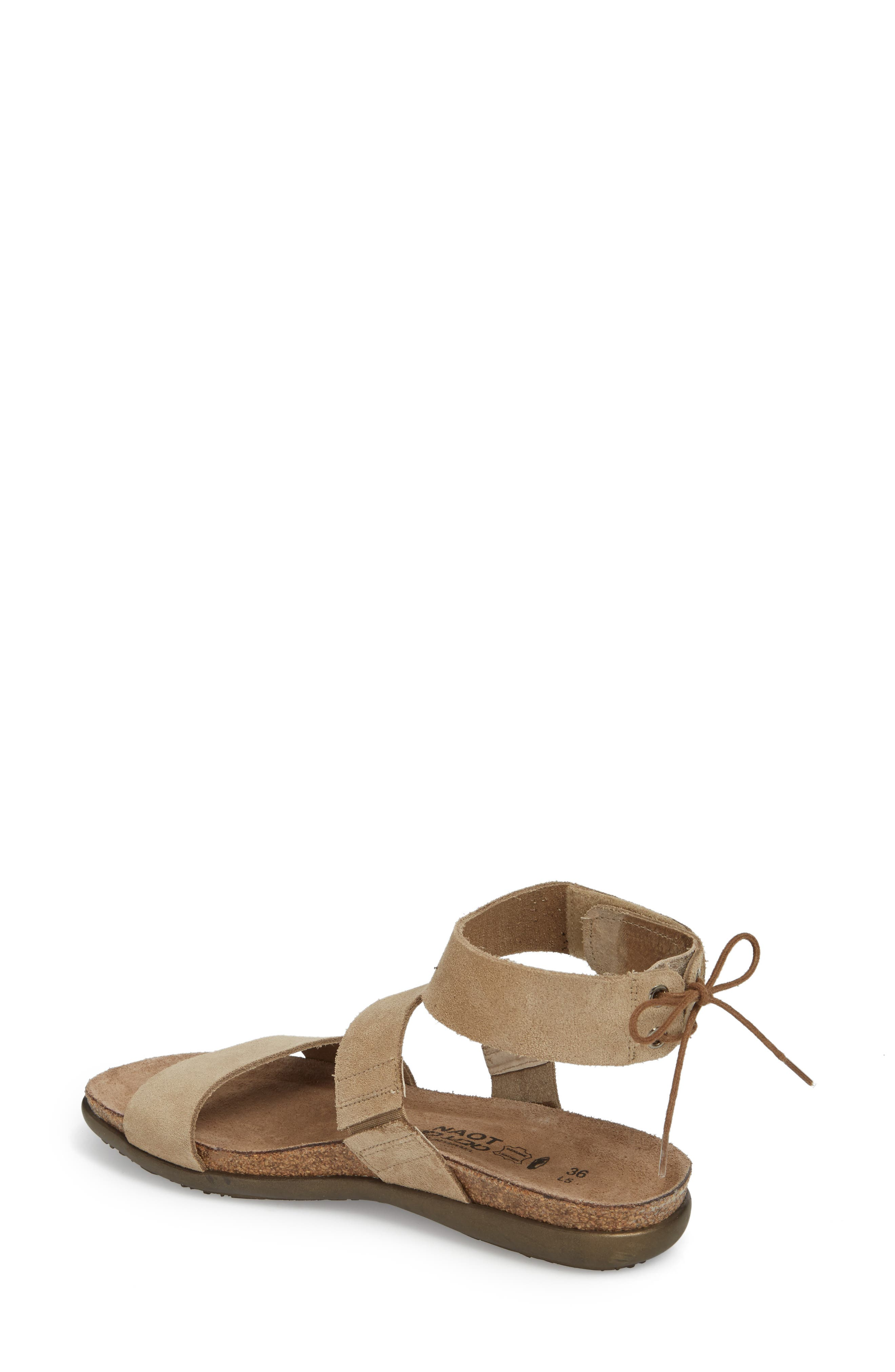 Larissa Ankle Strap Sandal,                             Alternate thumbnail 7, color,