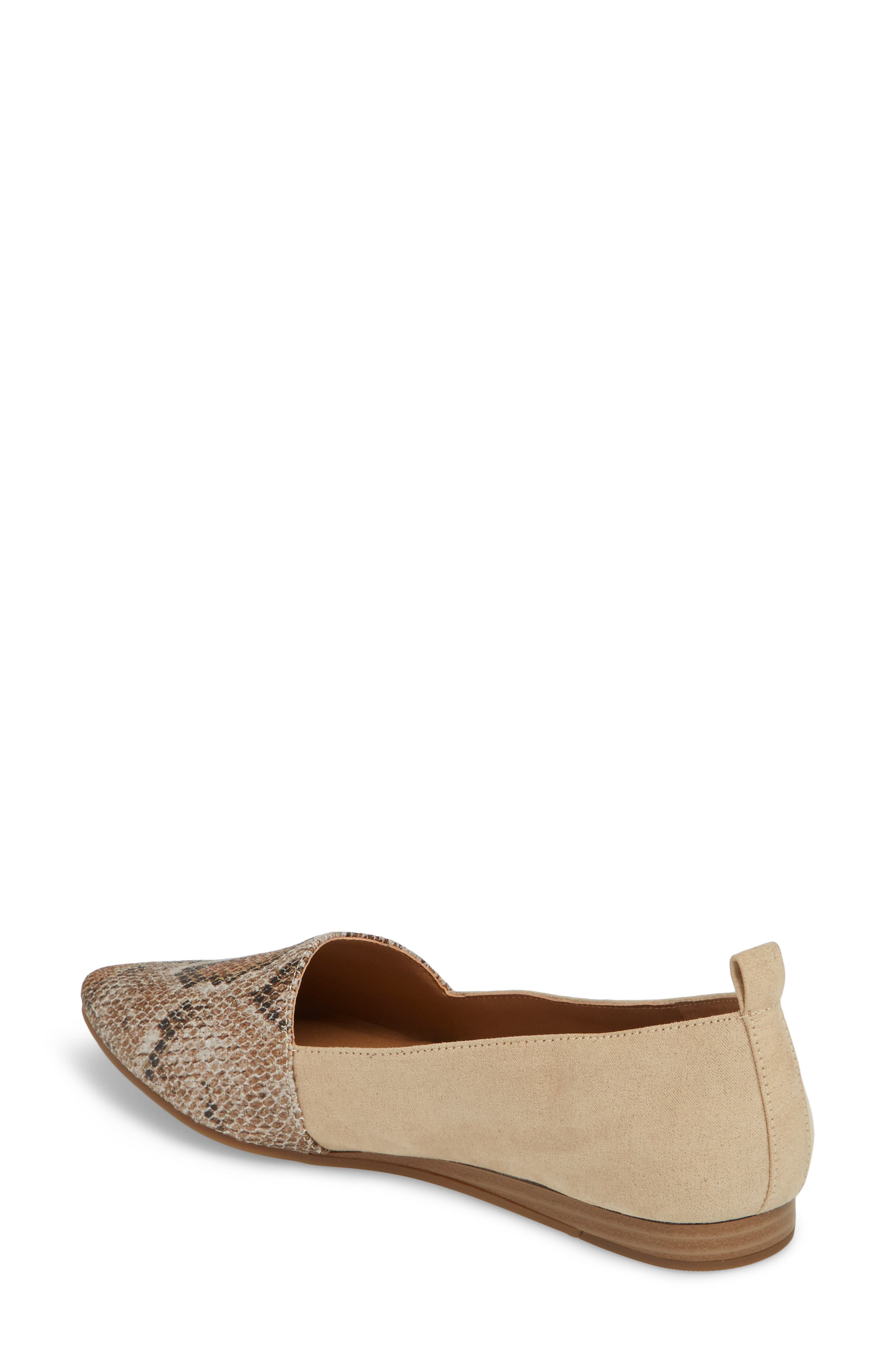 Beechmer Pointy Toe Flat,                             Alternate thumbnail 7, color,