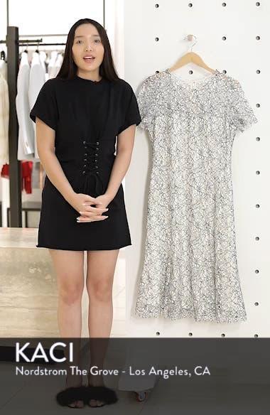 Two-Tone Lace A-Line Dress, sales video thumbnail