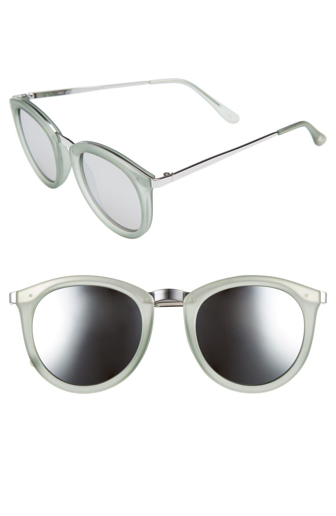 No Smirking 50mm Sunglasses,                             Main thumbnail 1, color,                             300
