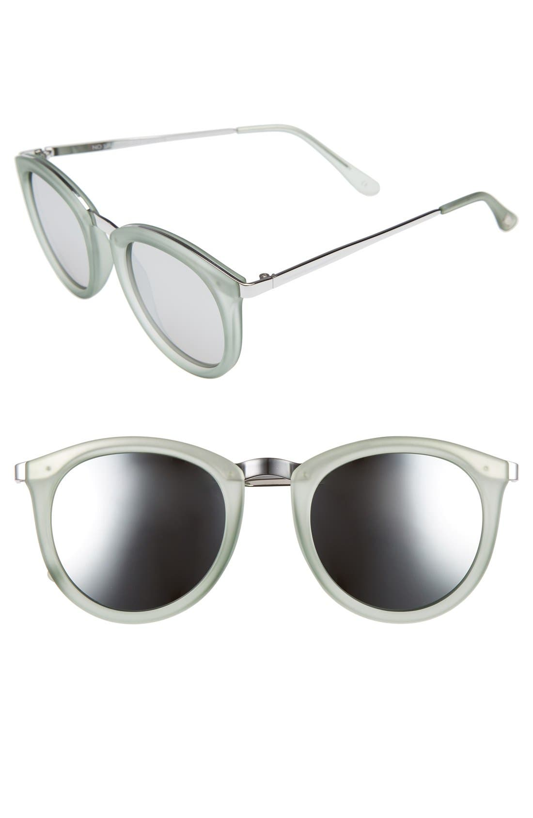 No Smirking 50mm Sunglasses,                         Main,                         color, 300