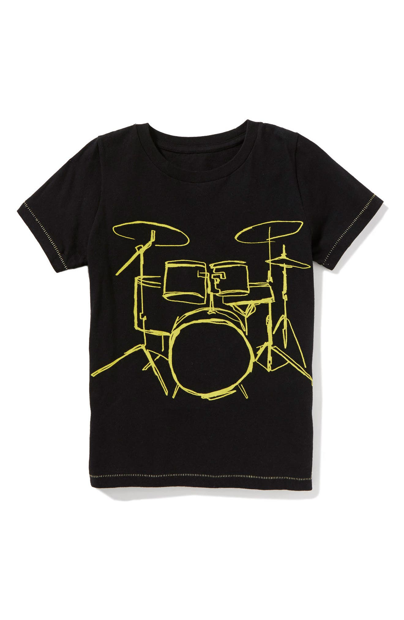 Drummer Wanted Graphic T-Shirt,                         Main,                         color, 001