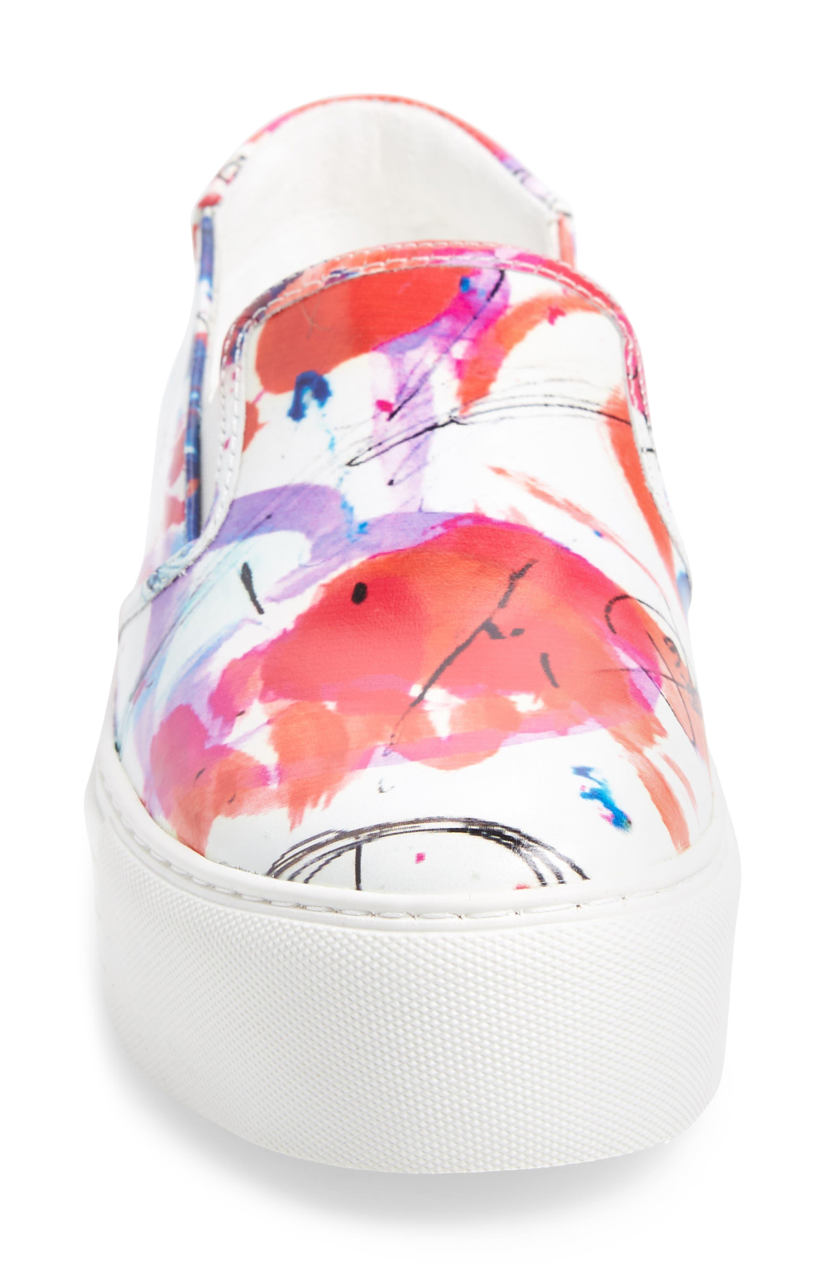 Joanie Slip-On Platform Sneaker,                             Alternate thumbnail 37, color,