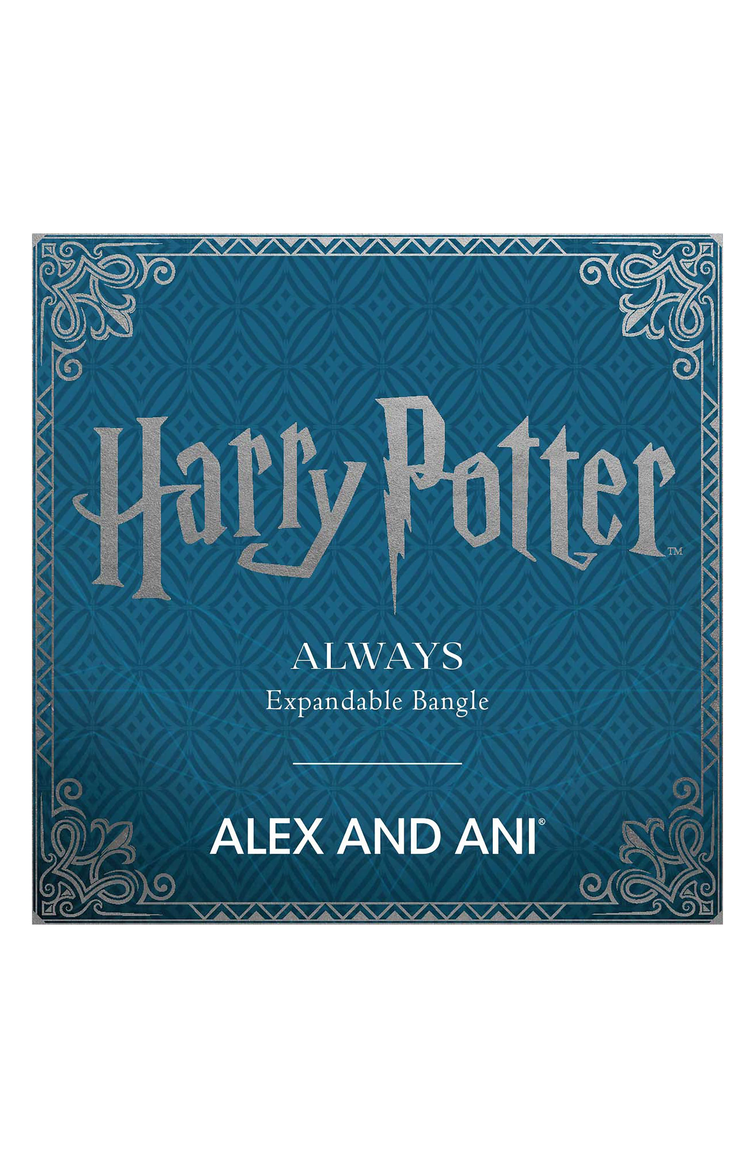 Harry Potter<sup>™</sup> Always Bangle,                             Alternate thumbnail 3, color,                             040