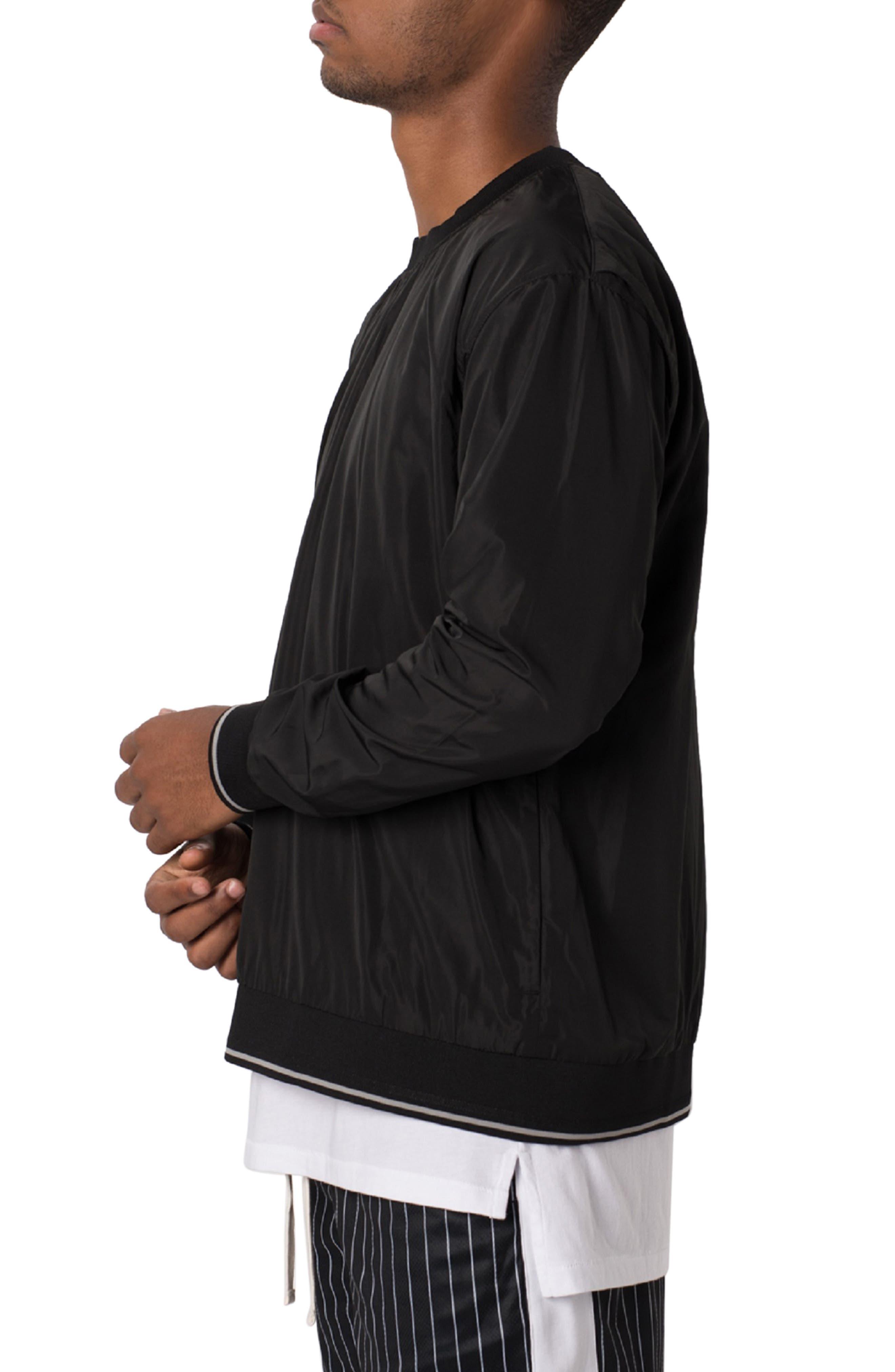 ZANEROBE,                             Jumpa Oversize Crewneck Sweatshirt,                             Alternate thumbnail 3, color,                             BLACK