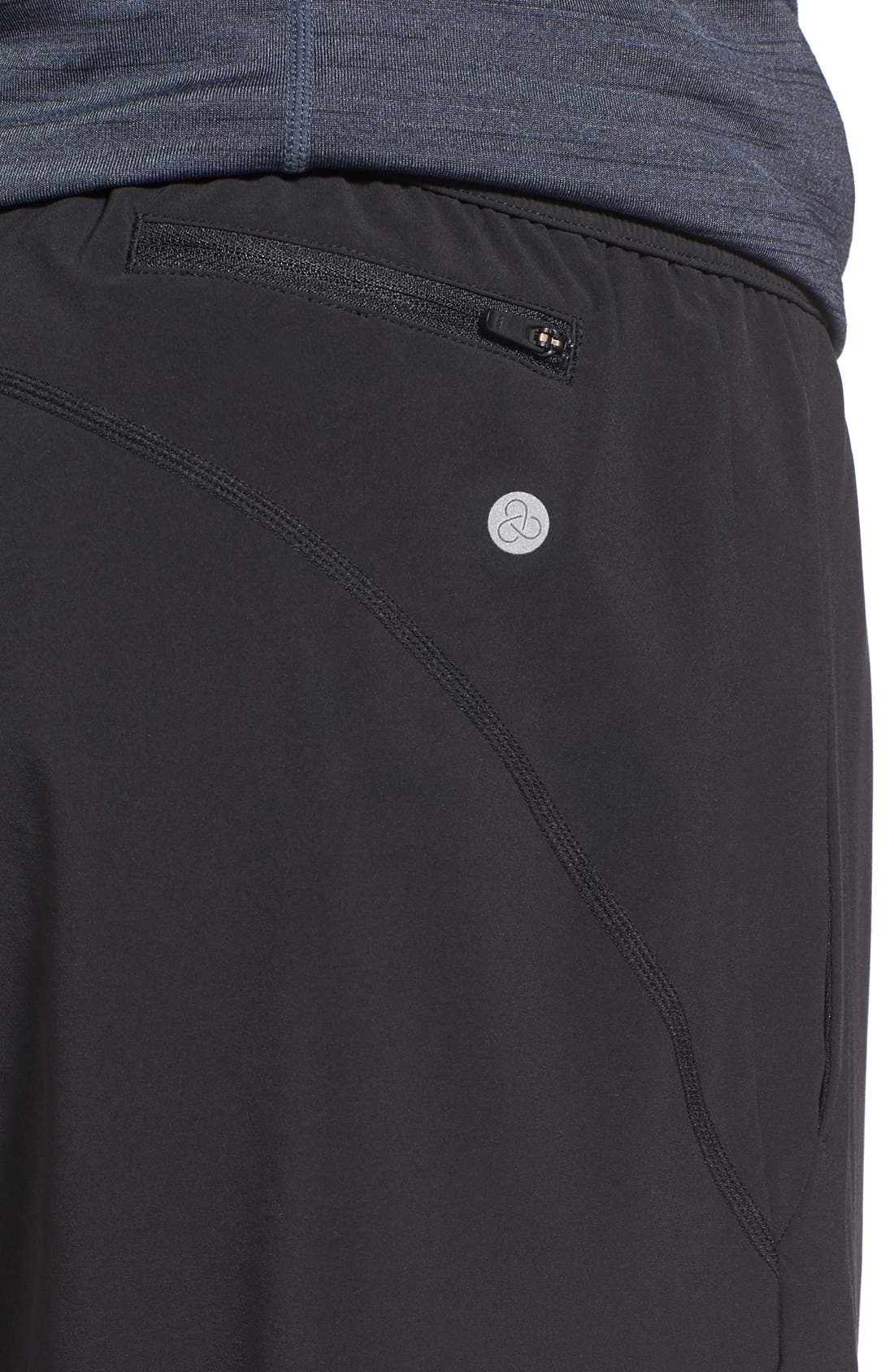 Graphite Tapered Athletic Pants,                             Alternate thumbnail 5, color,                             001