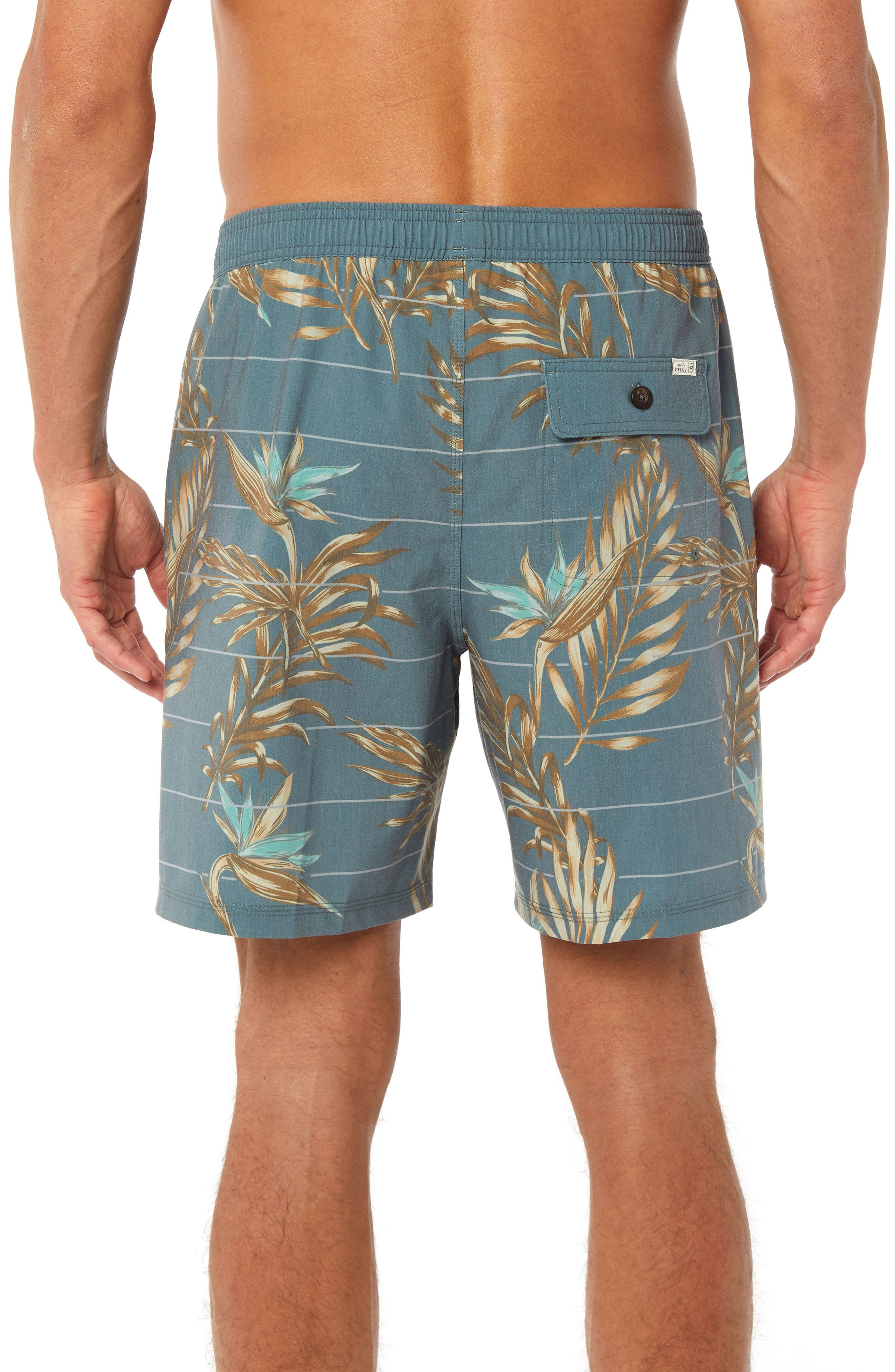 Paradise Volley Board Shorts,                             Alternate thumbnail 2, color,                             400