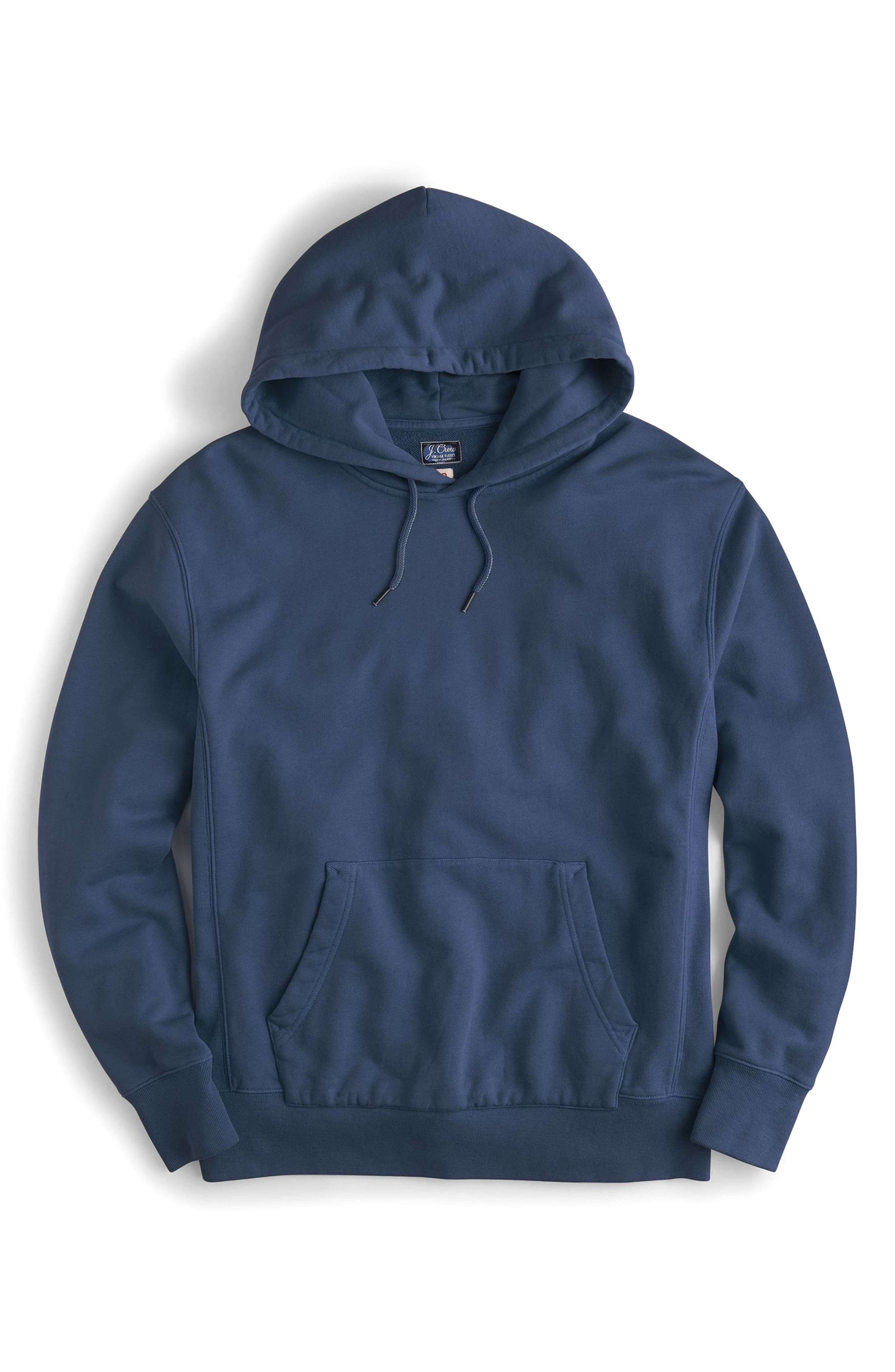 Garment Dyed French Terry Hoodie,                             Alternate thumbnail 12, color,