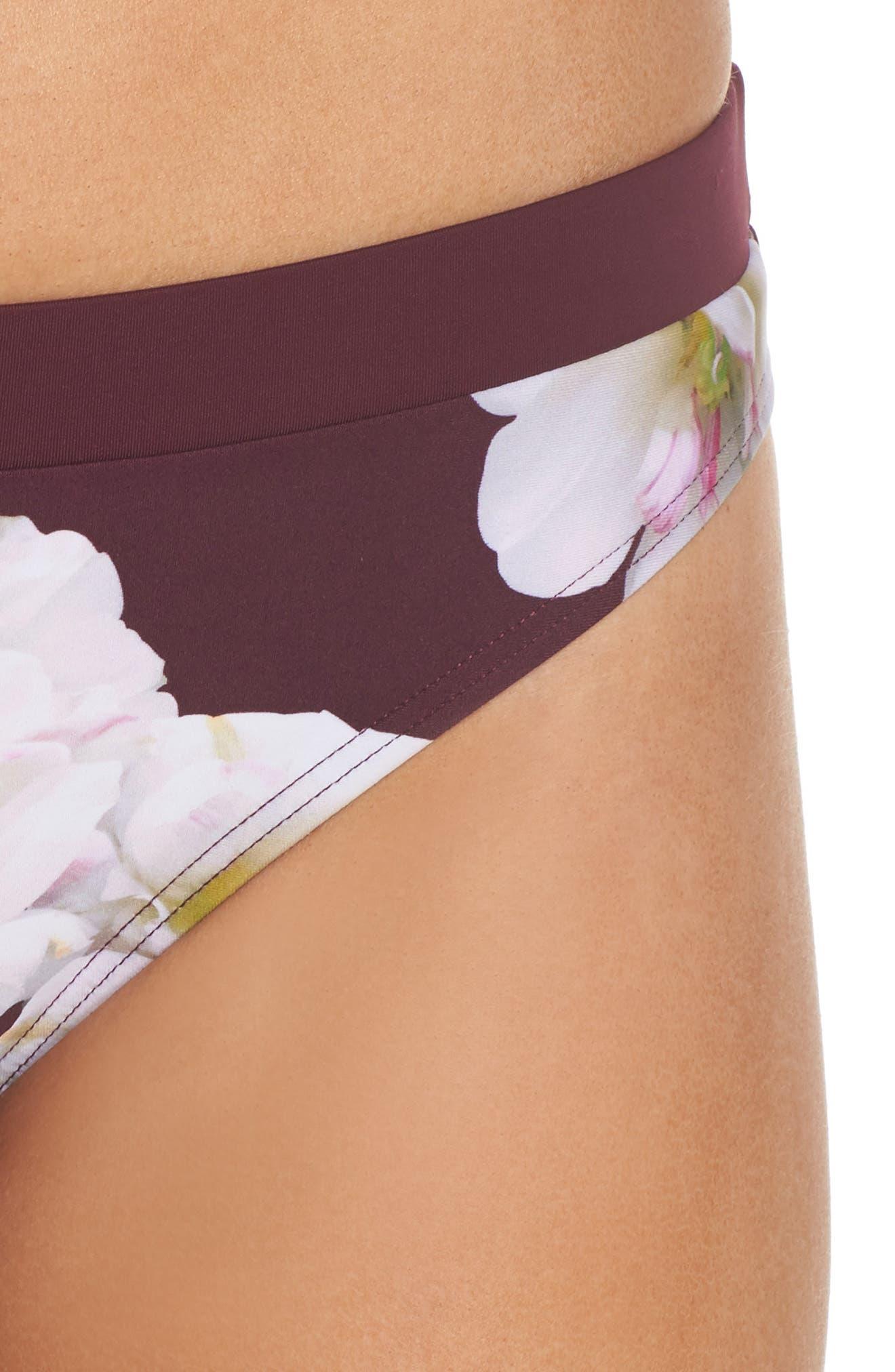Garcela Gardenia Bikini Bottoms,                             Alternate thumbnail 4, color,                             930