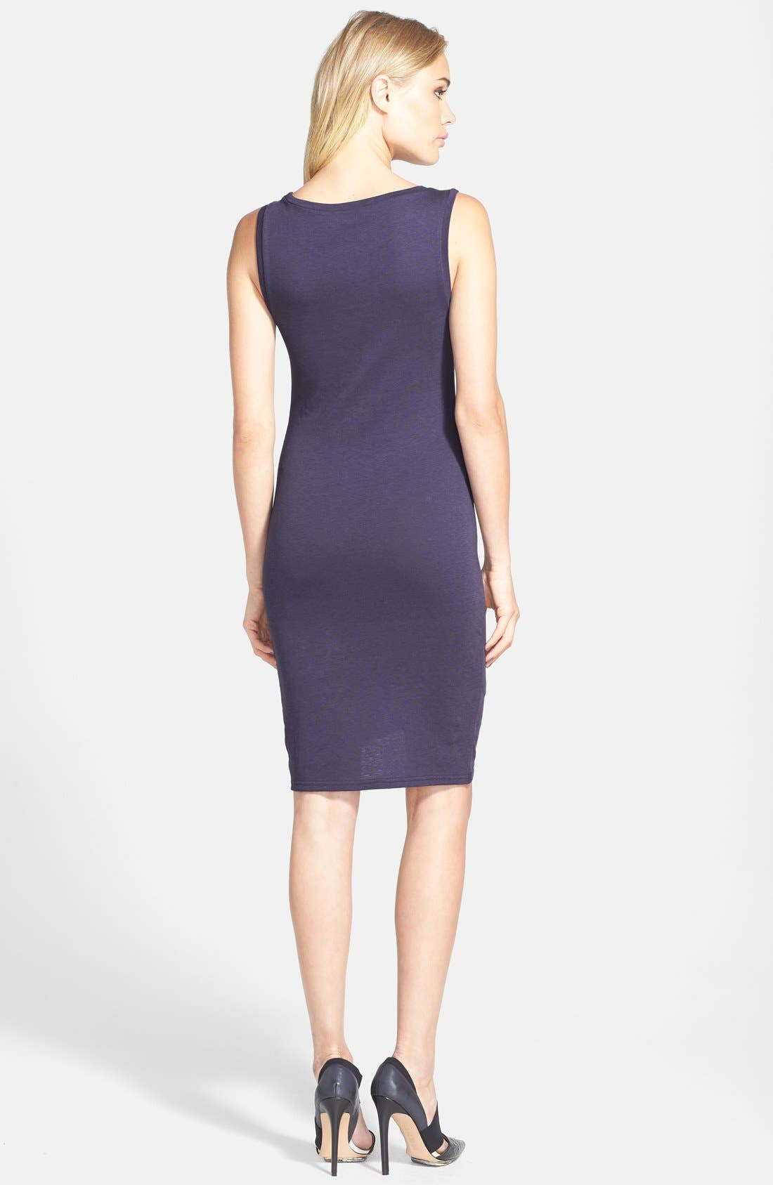 Ruched Body-Con Tank Dress,                             Alternate thumbnail 64, color,