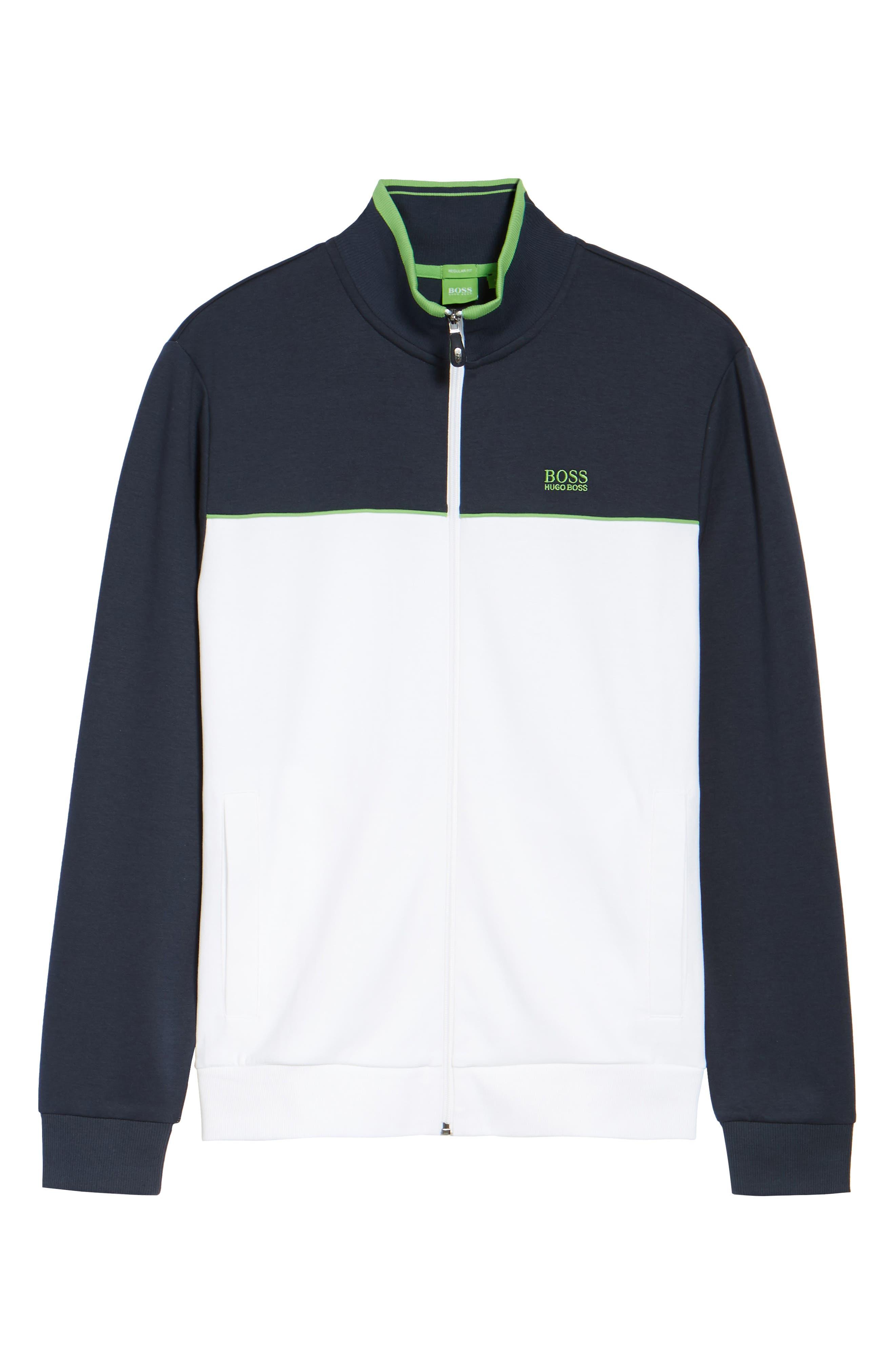 Skaz Full Zip Fleece Jacket,                             Alternate thumbnail 6, color,                             WHITE