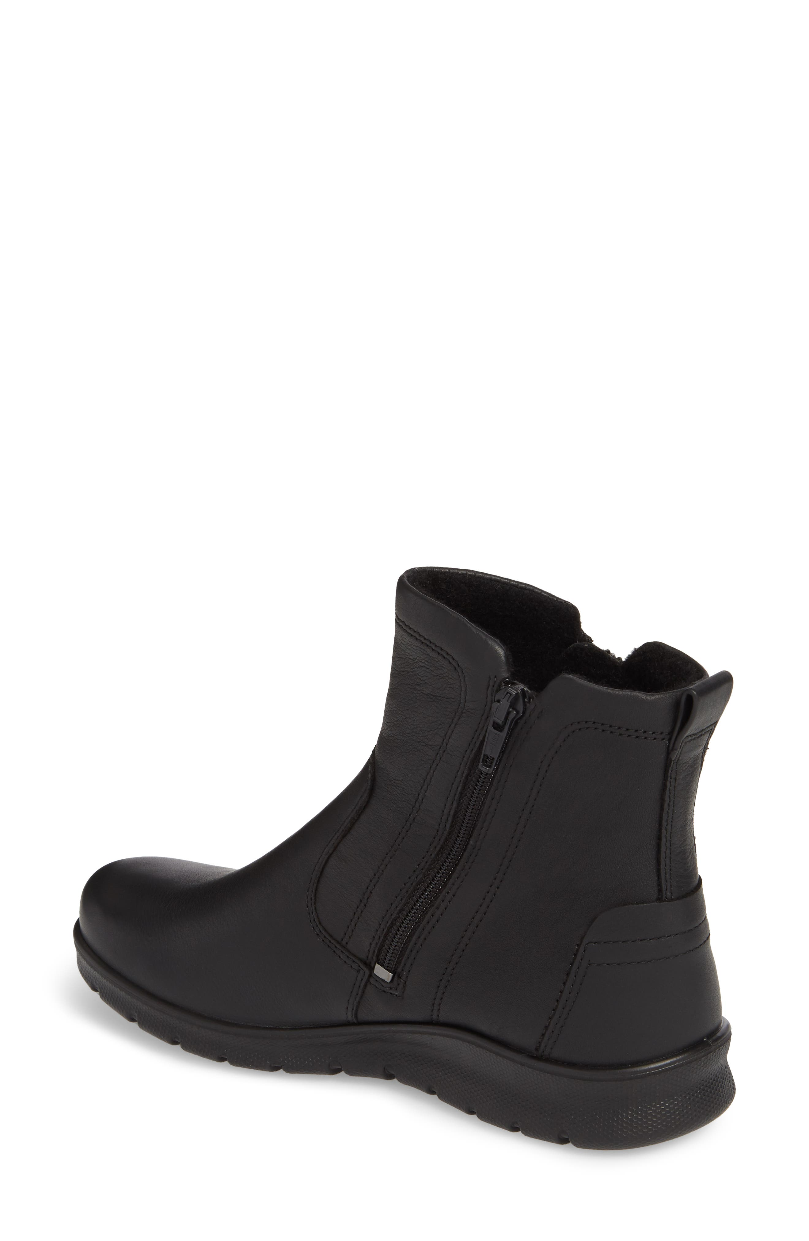Babett Gore-Tex<sup>®</sup> Bootie,                             Alternate thumbnail 2, color,                             BLACK LEATHER
