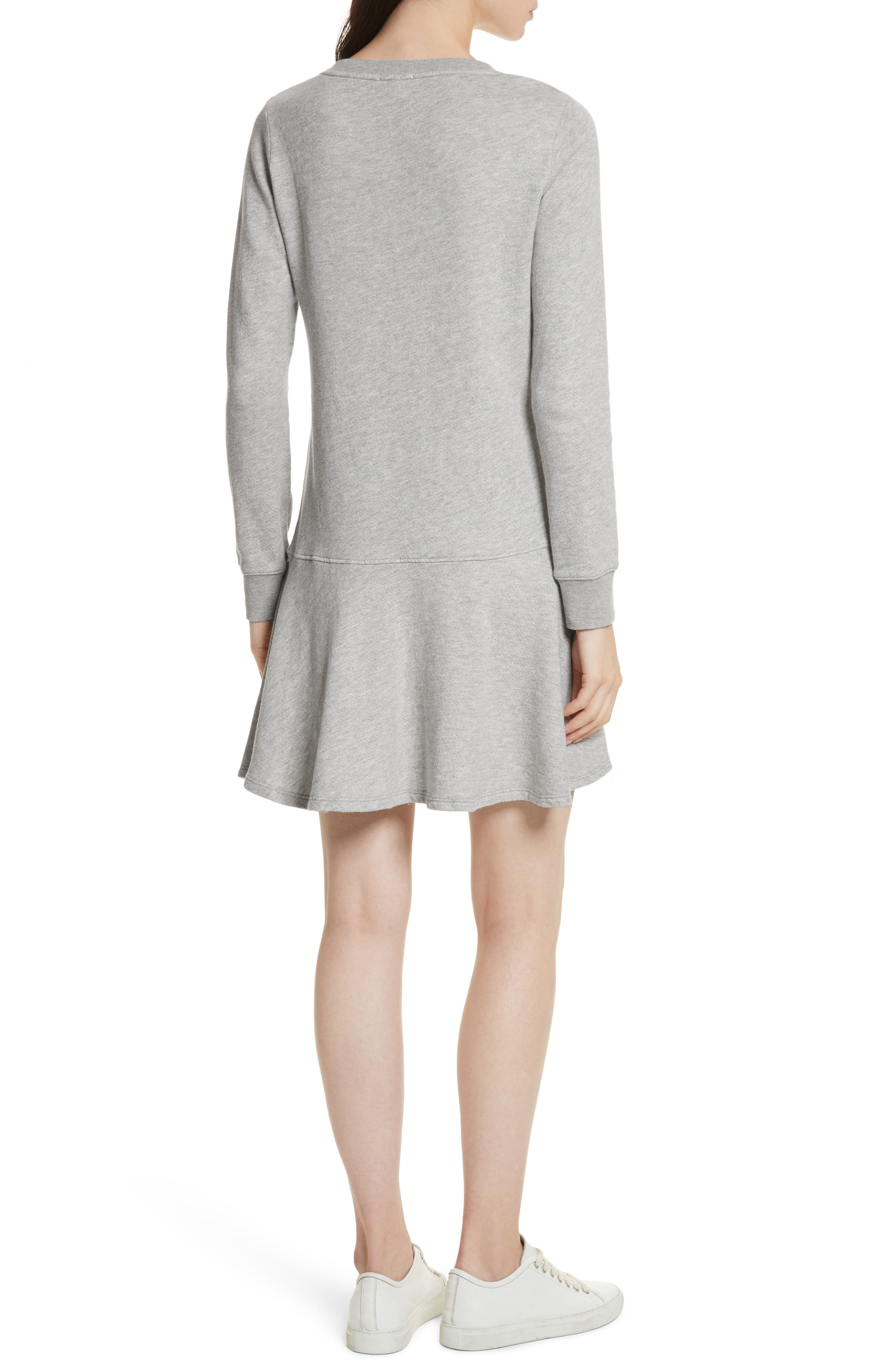 Runna French Terry A-Line Dress,                             Alternate thumbnail 2, color,                             033