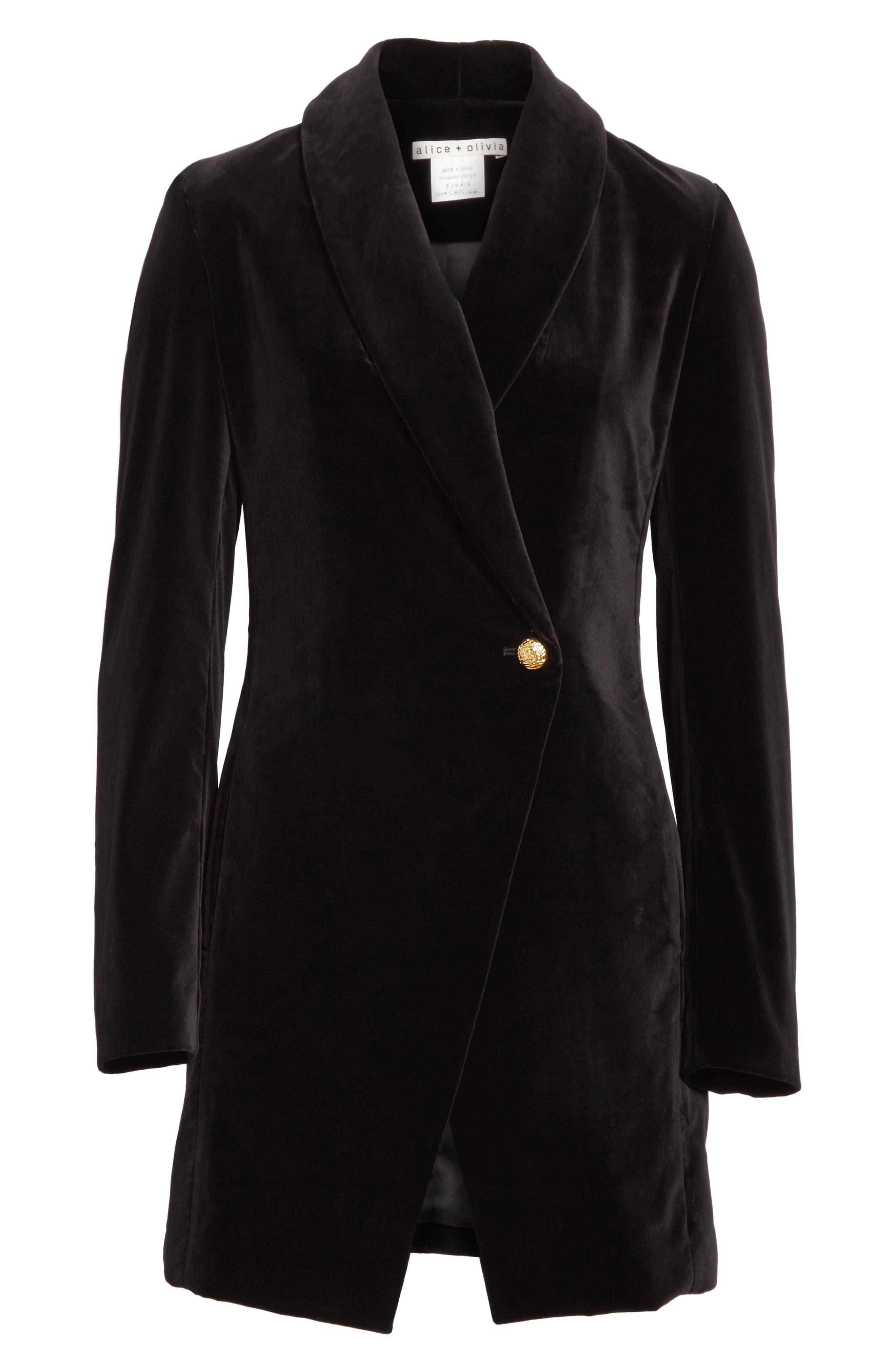 Vance Crossover Coat,                             Alternate thumbnail 5, color,                             001