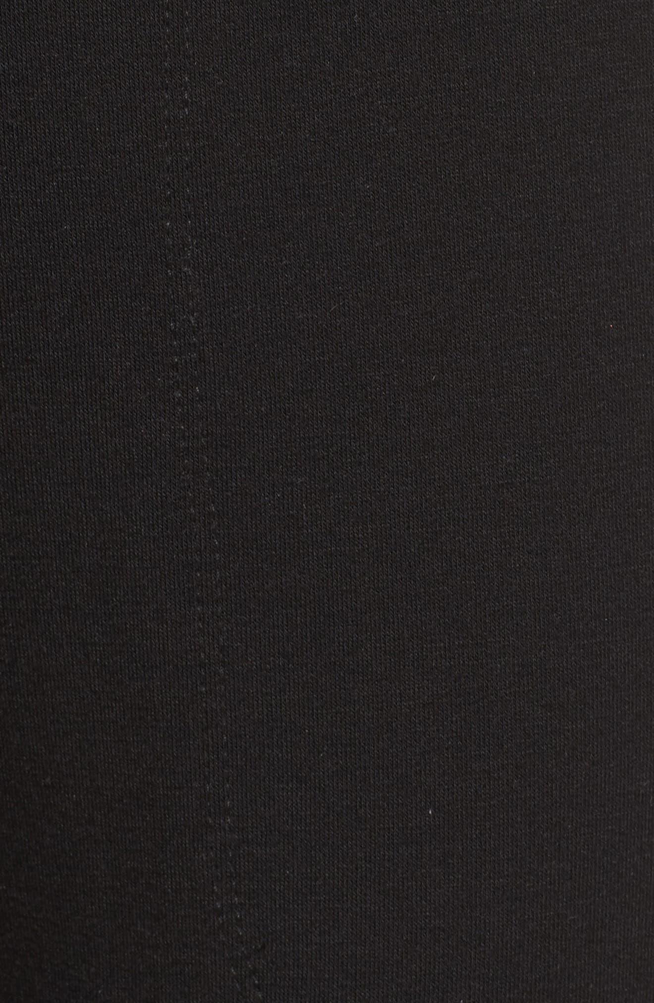 Living Easy Sweatpants,                             Alternate thumbnail 6, color,                             BLACK