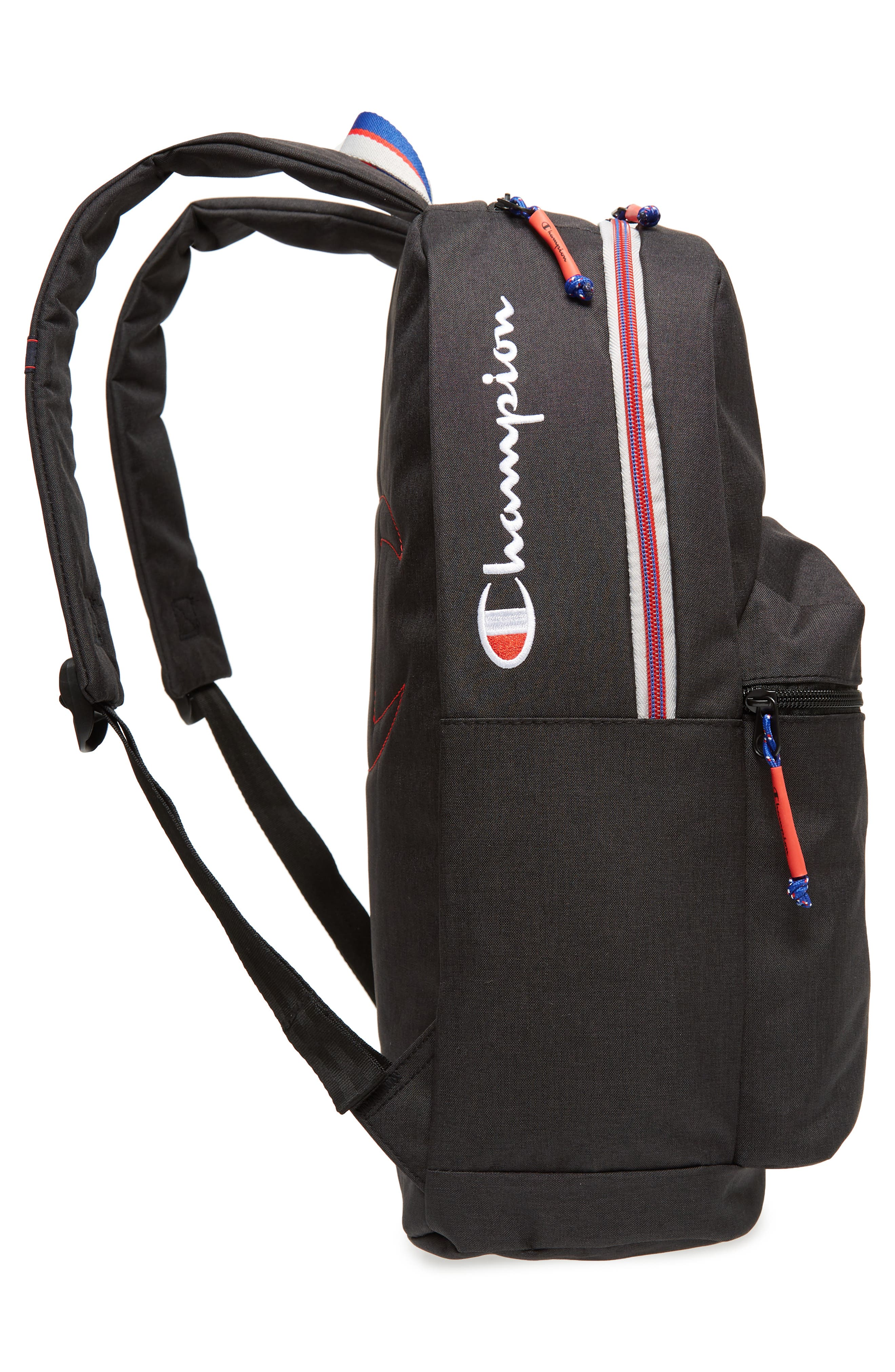 Supercize Backpack,                             Alternate thumbnail 5, color,                             BLACK HEATHER