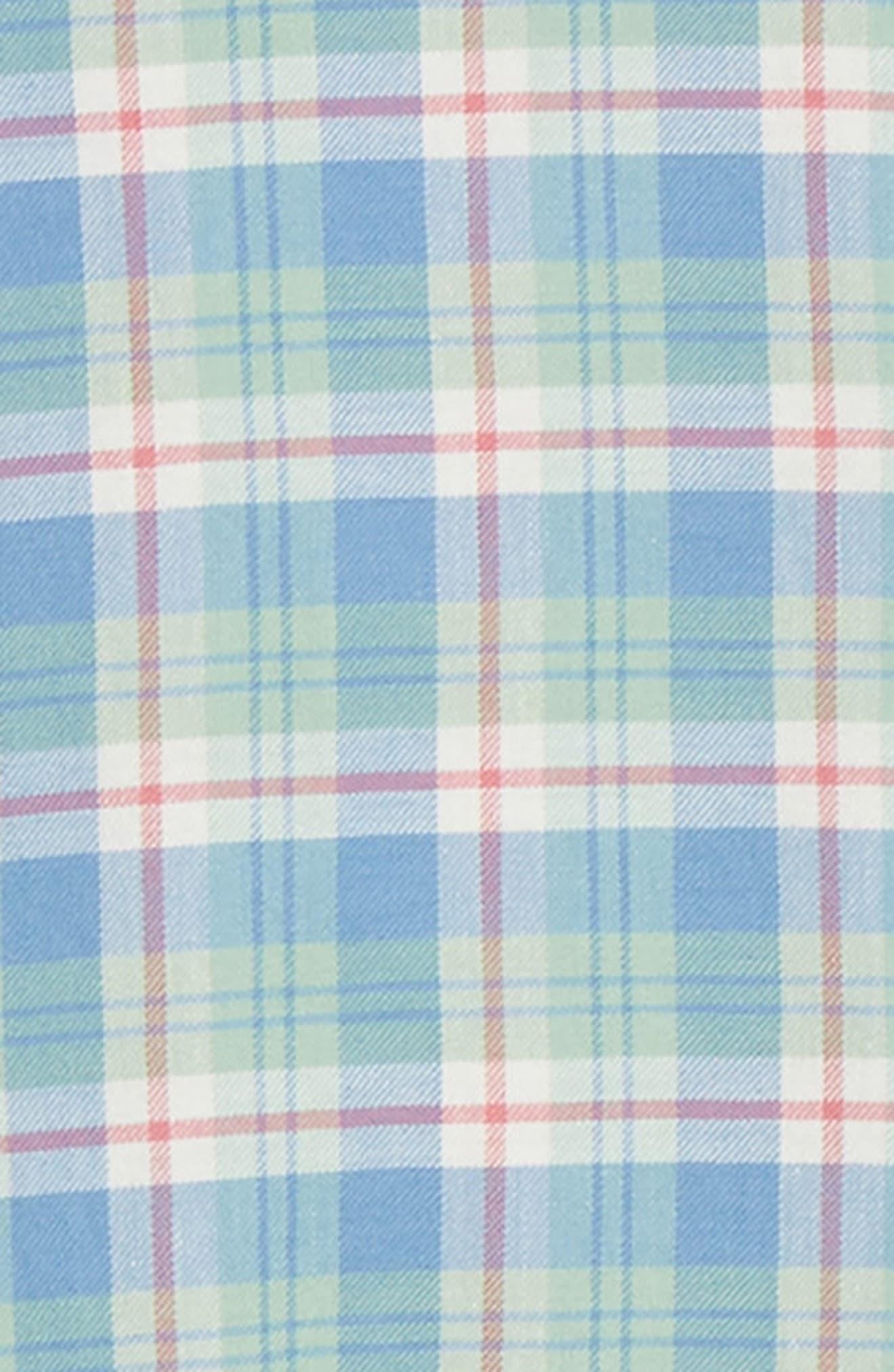 VINEYARD VINES,                             Murray Slim Fit Twill Sport Shirt,                             Alternate thumbnail 6, color,                             SEA KELP